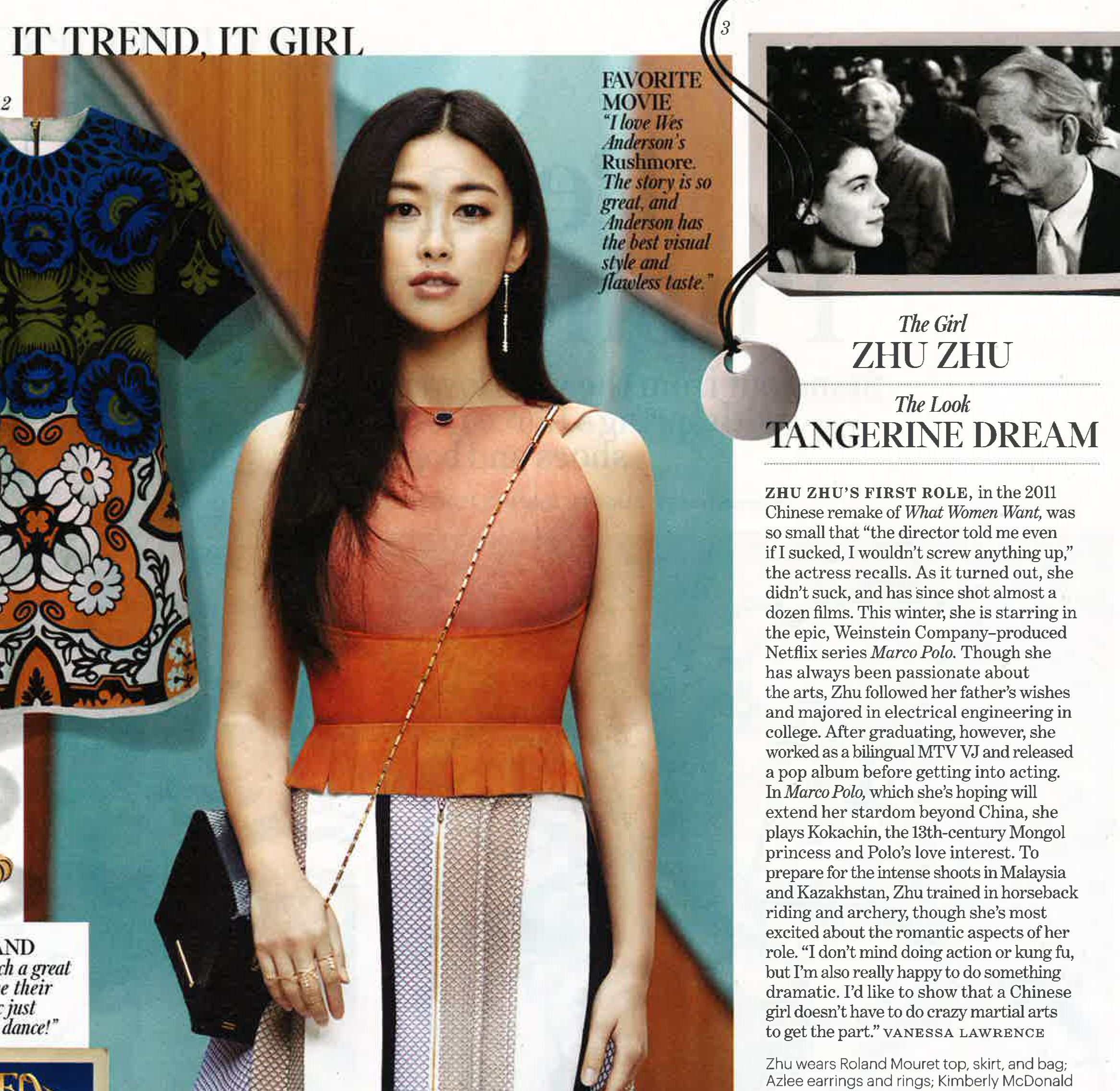 W MAGAZINE  ZHU ZHU  LIGHT COLLECTION RINGS AND EARRINGS