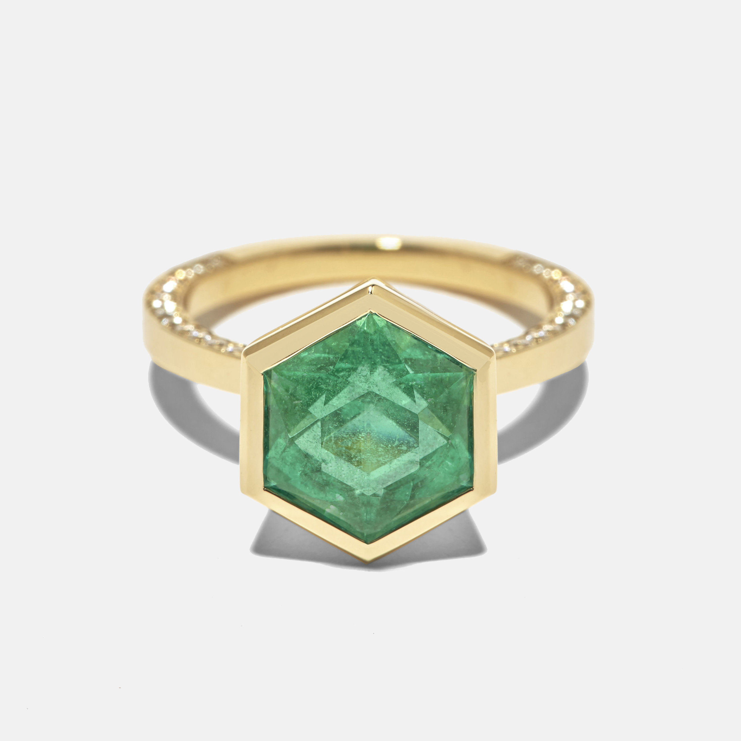 azlee emerald hexagon custom ring.jpg