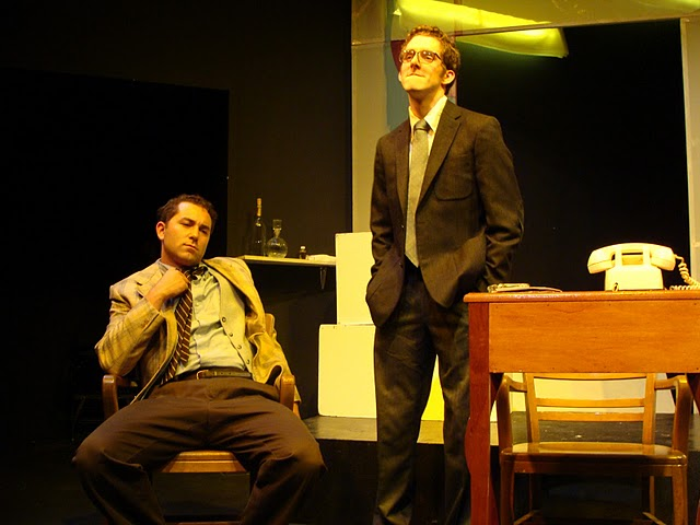"A scene from Ayn Rand's ""Ideal"" at 59E59."