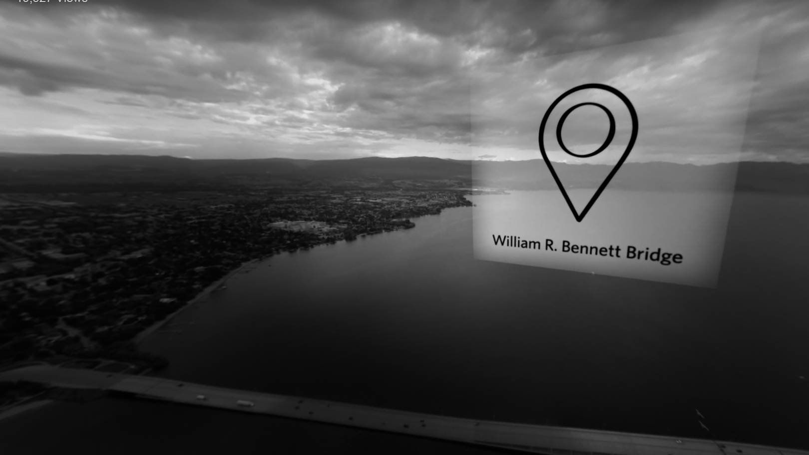 UBC O: Virtual Reality Flyover / 2d Virtual Reality Compositing, Animating