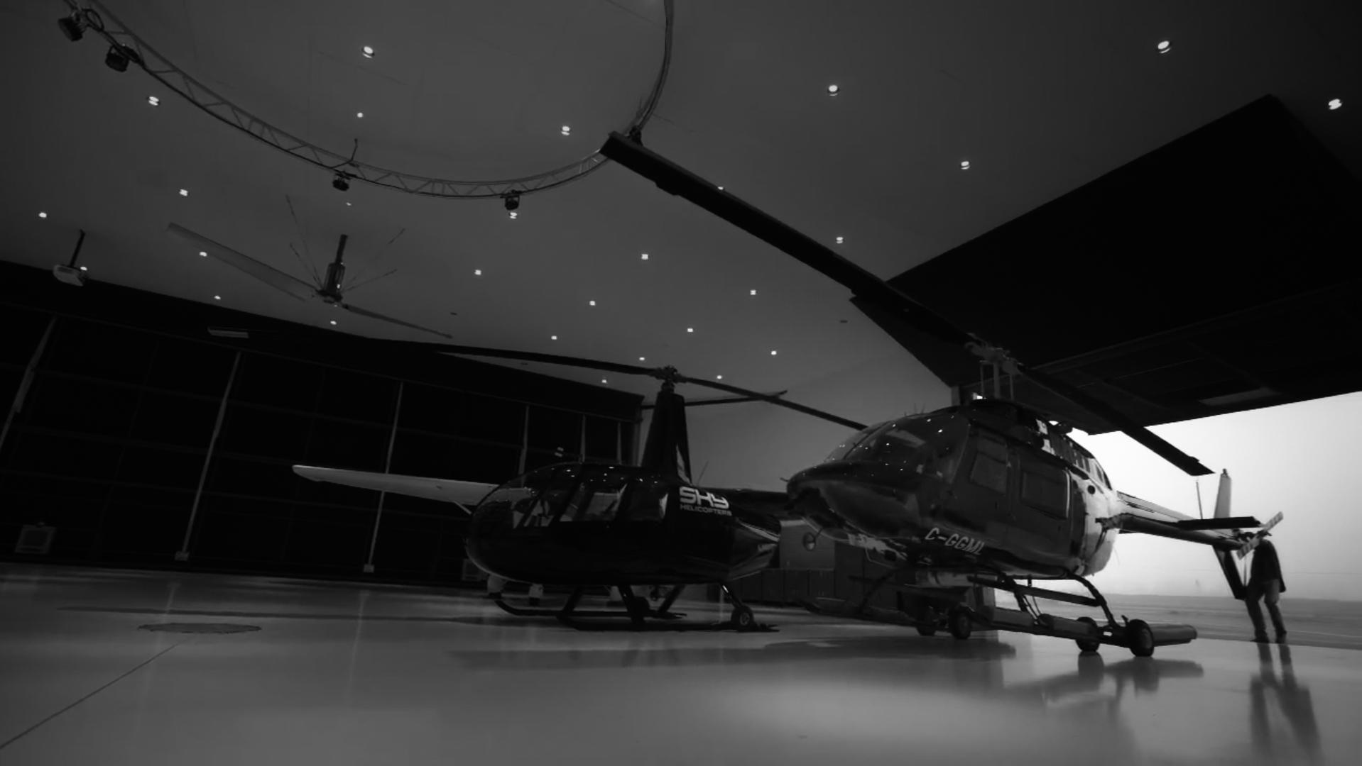 Sky Hangar: Event Hosting / Camera Operator and Assistant Director