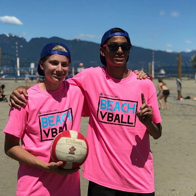 Valley 15's Hunter and Johnny take the @volleyballbc Sand Series #1 🥇 Congrats boys!