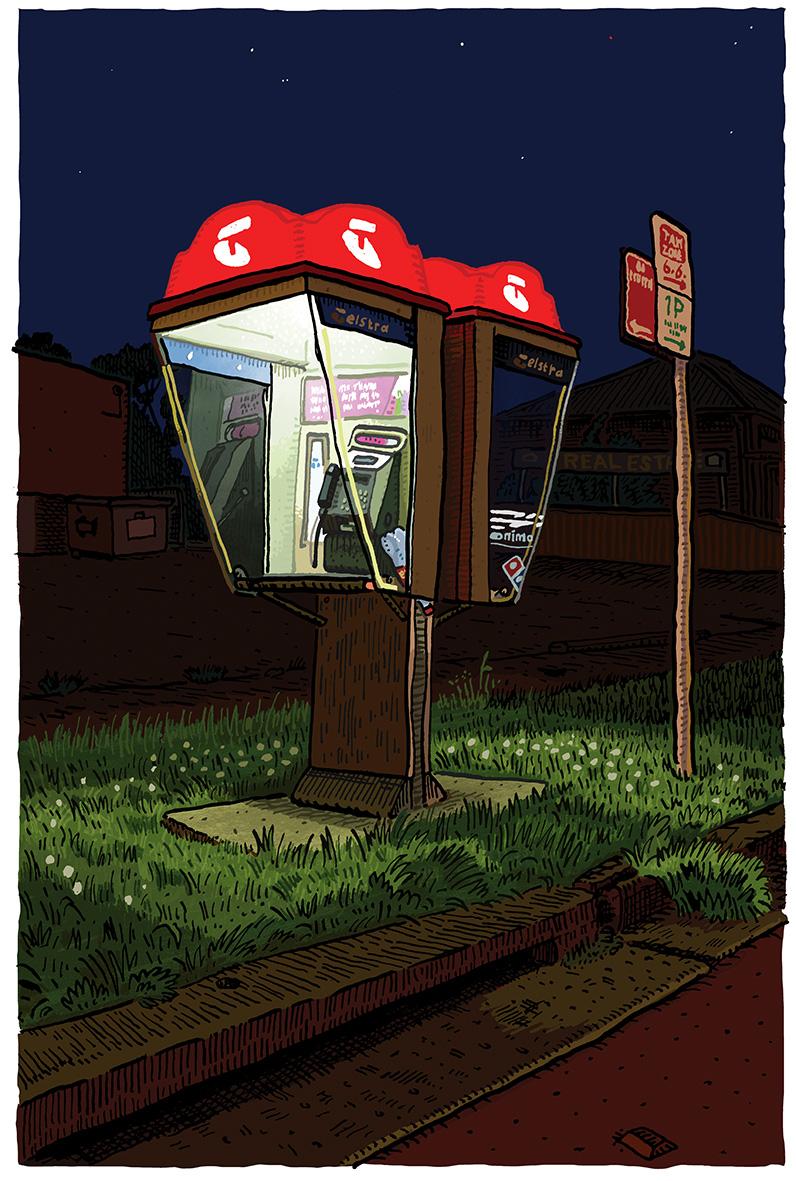 Telephone box East Maitland.jpg