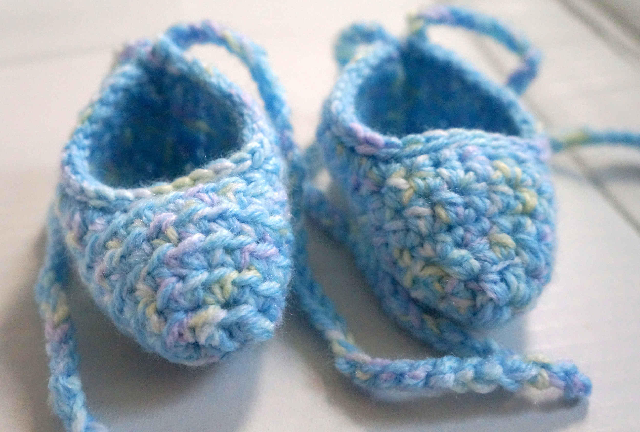 newborn ballet slippers