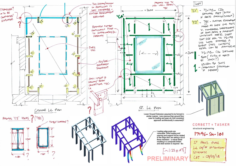 17196-SK-101 - Lvl 01 Rear Rf Structure (Lvl 00 Ext.) - Preliminary.jpg