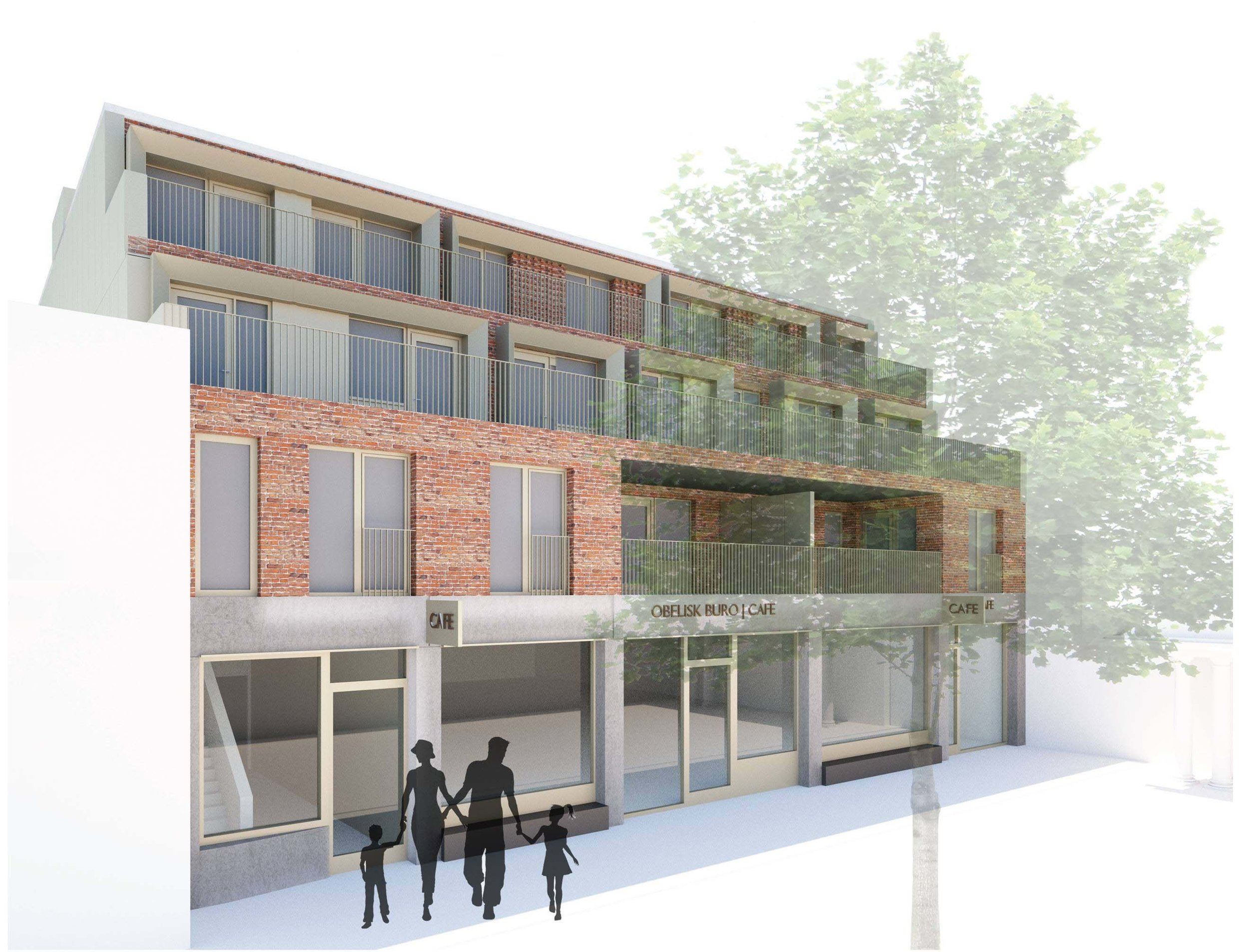 Render of the proposed building: Kristofer Adelaide Architecture
