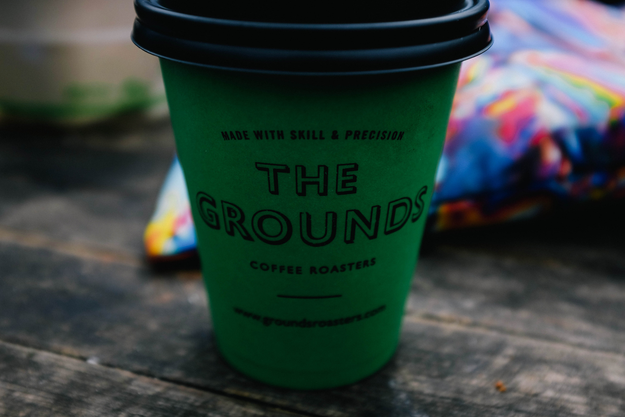 coffee at the grounds