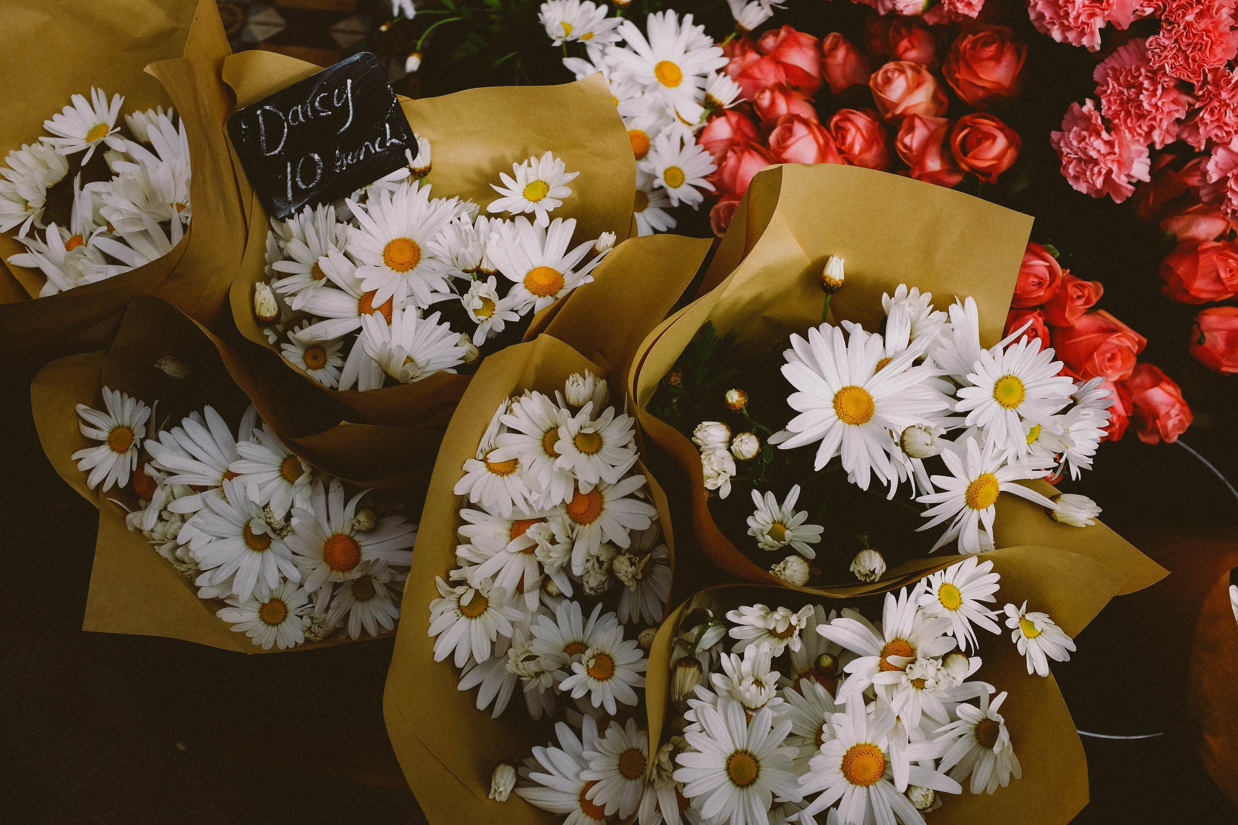 daisies bouquets