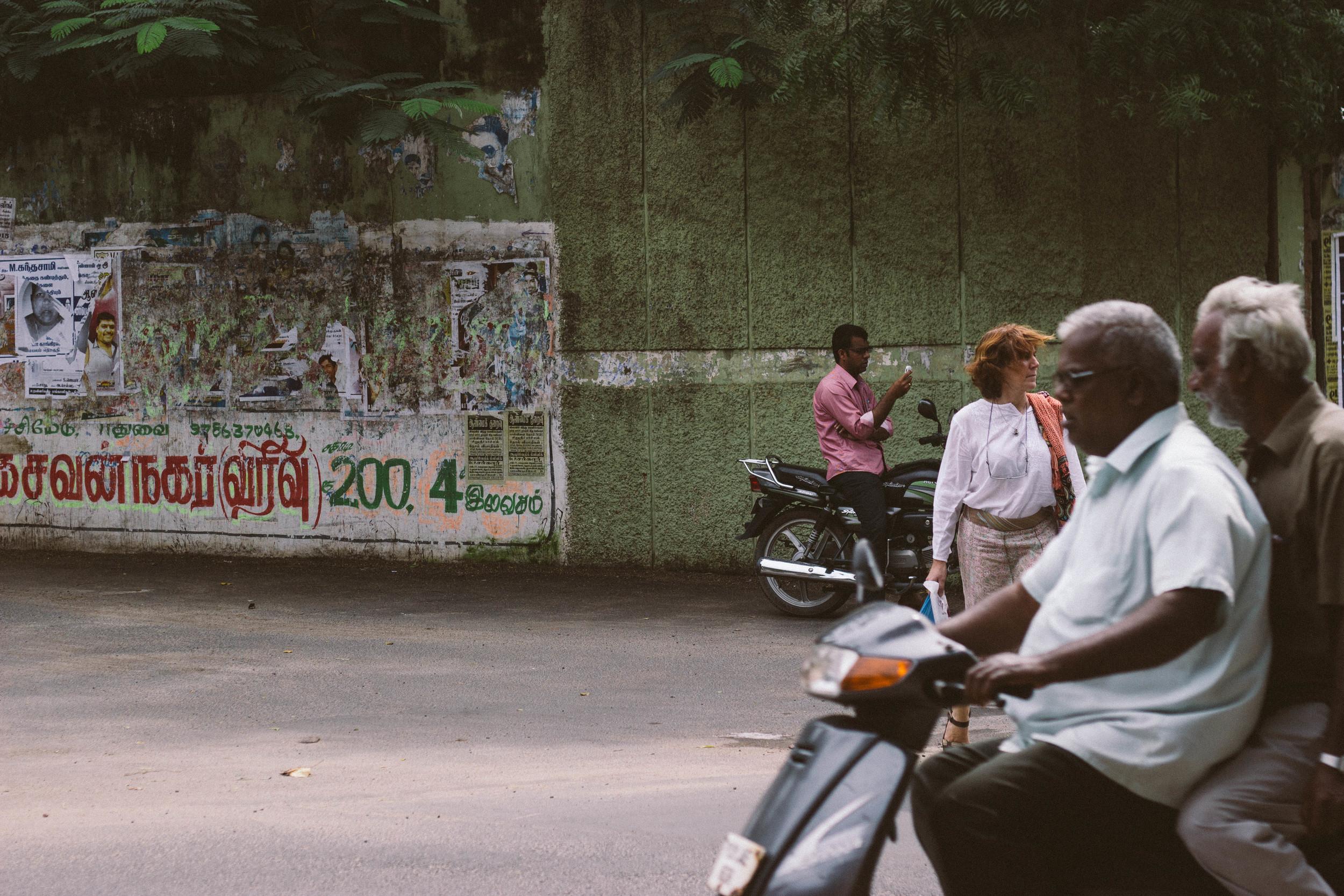 indian traffic pondicherry