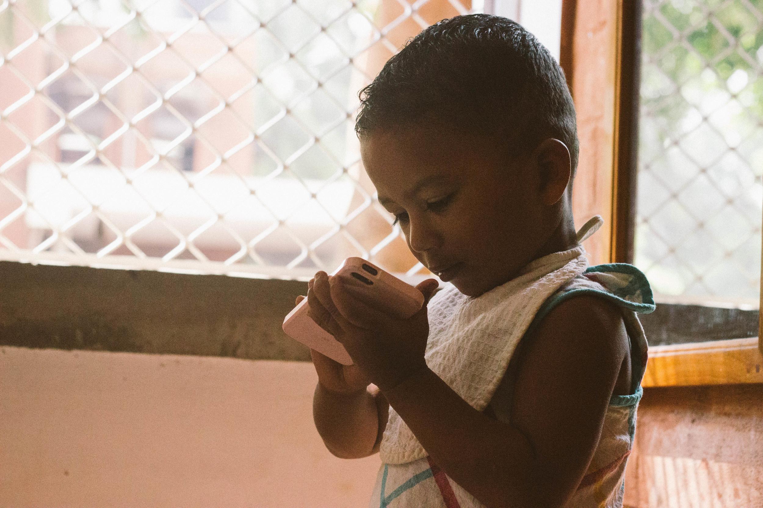 indian boy volontariat pondicherry