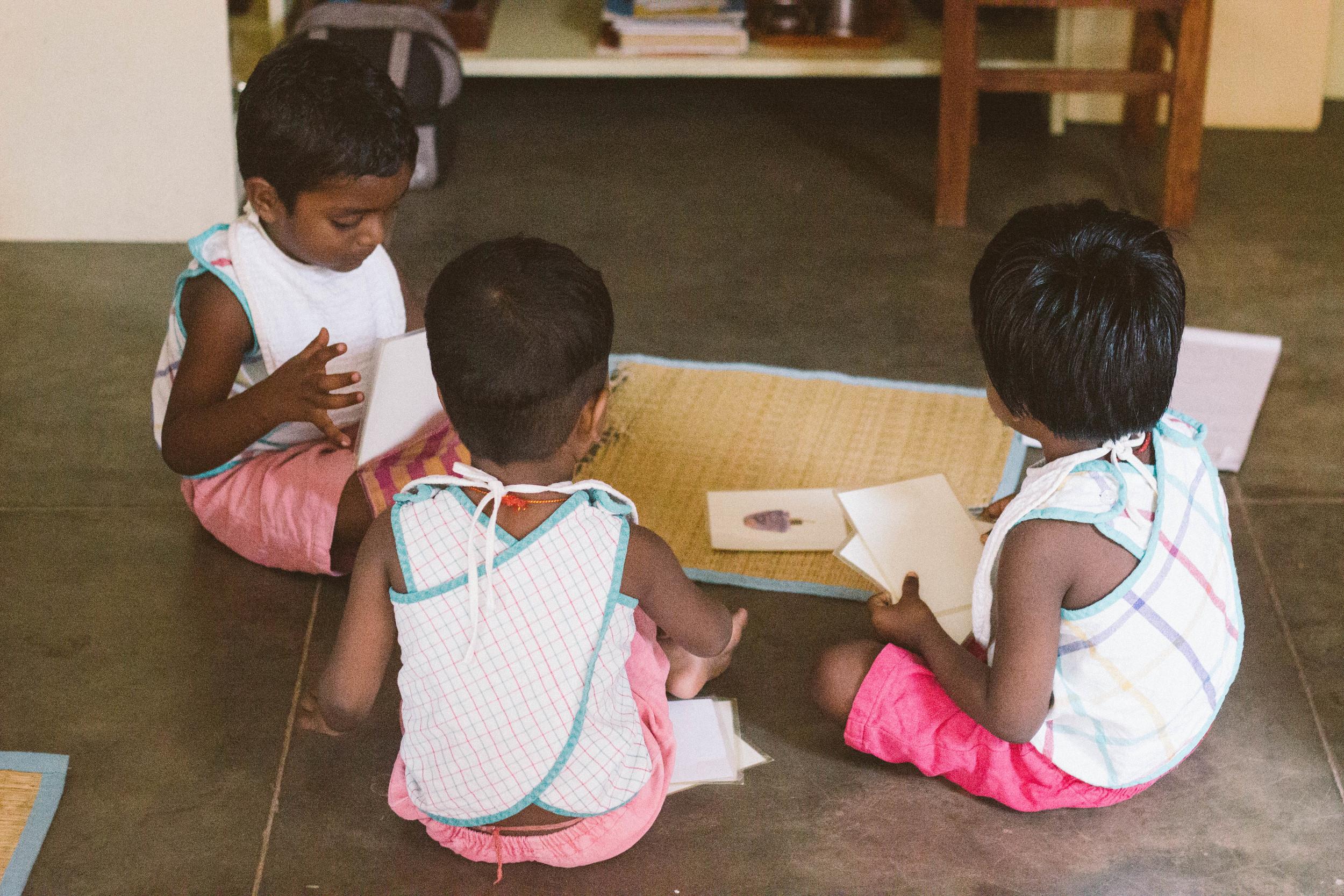 children volontariat india