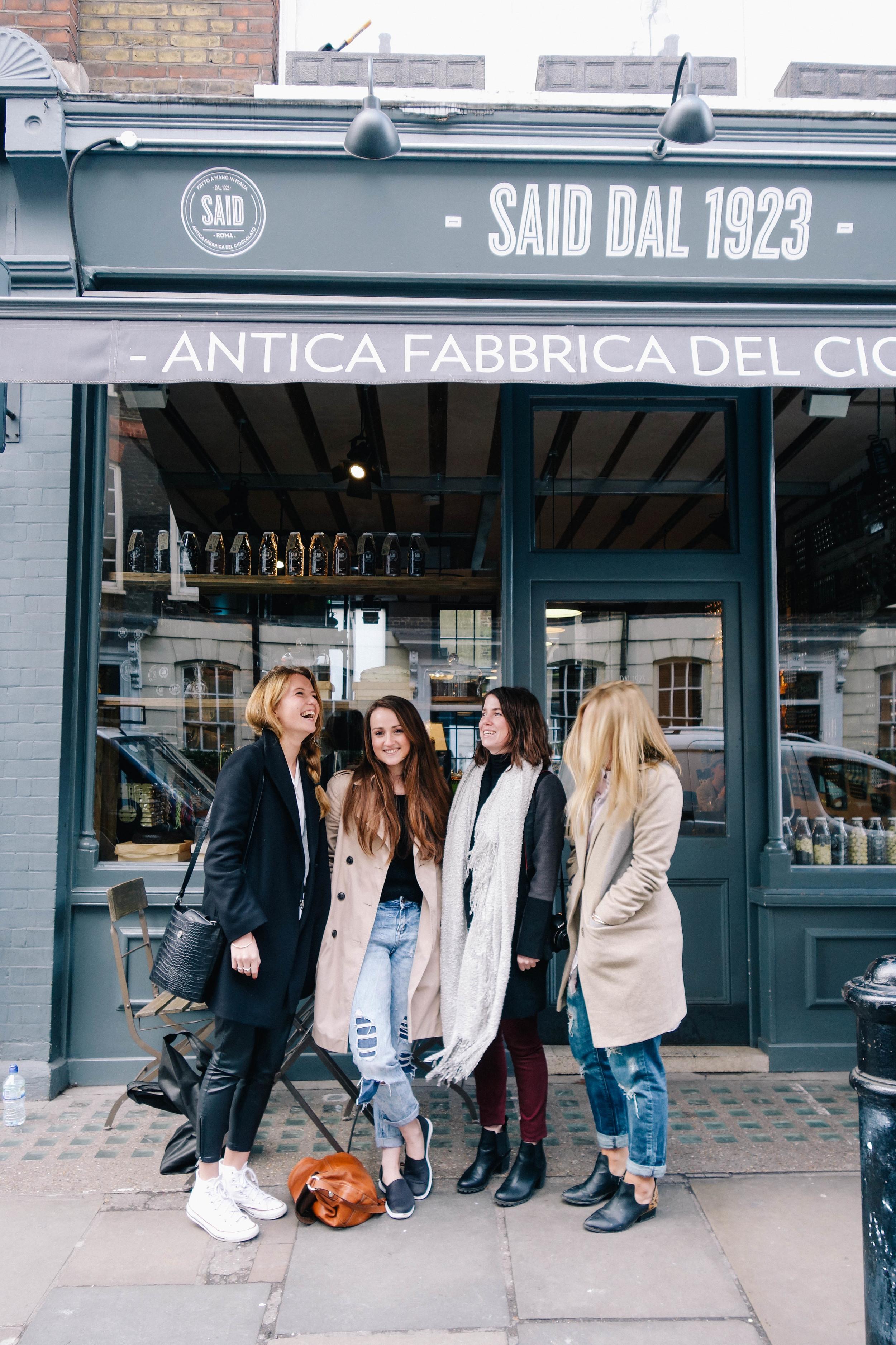 Said Hot Chocolate London | Joy Felicity Jane