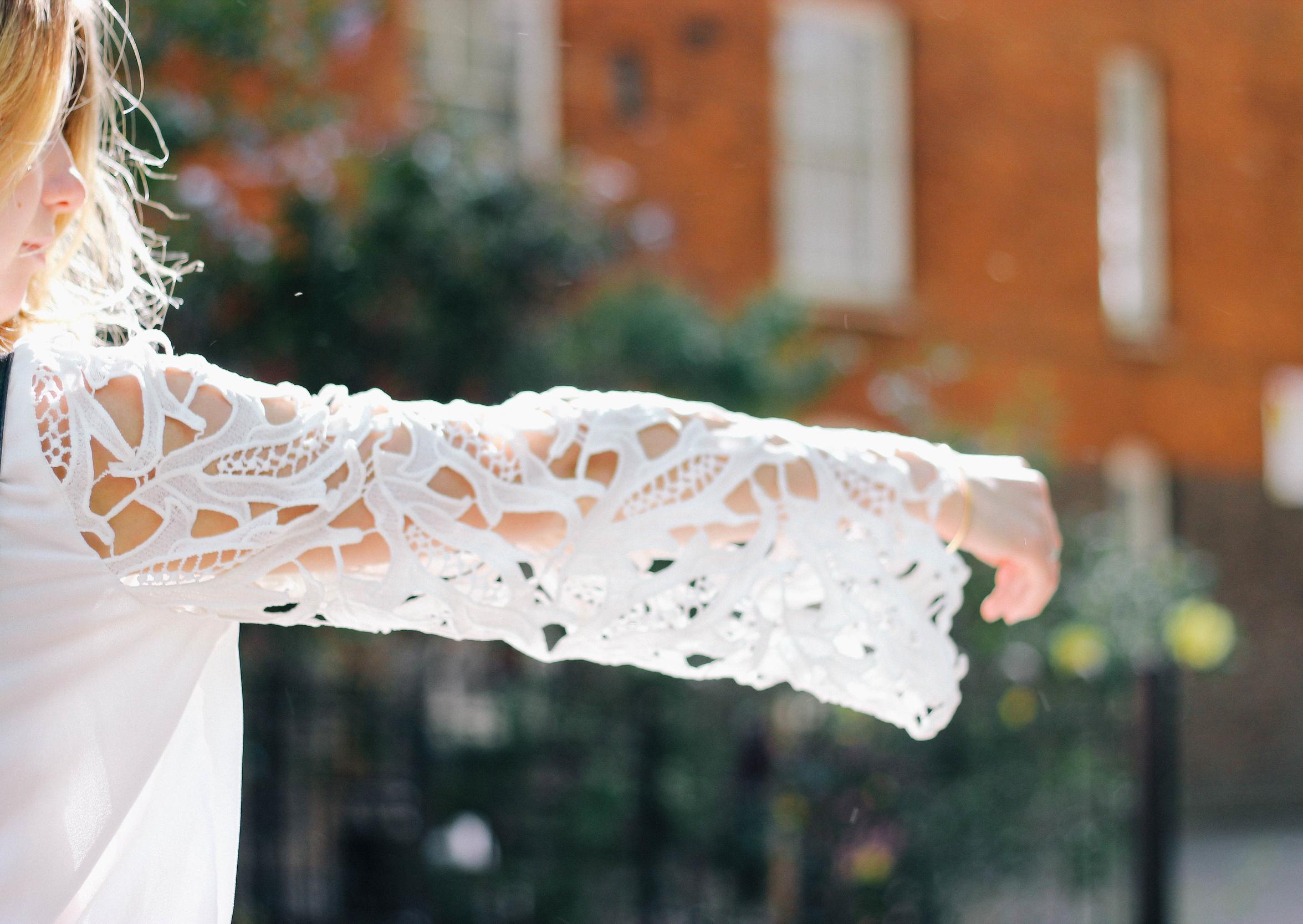 White Playsuit - Joy Felicity Jane