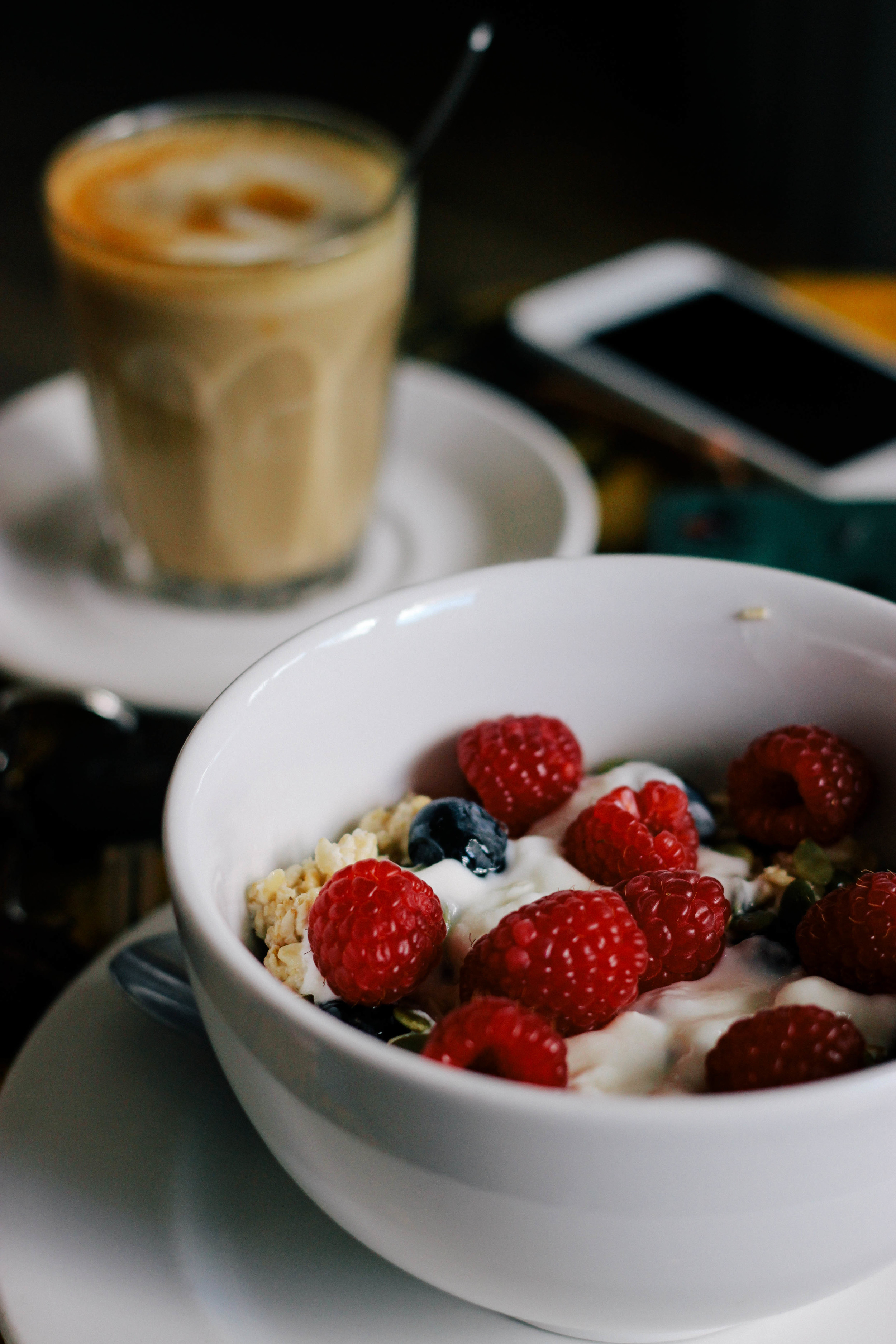 Muesli & Raspberry bowl | Joy Felicity Jane