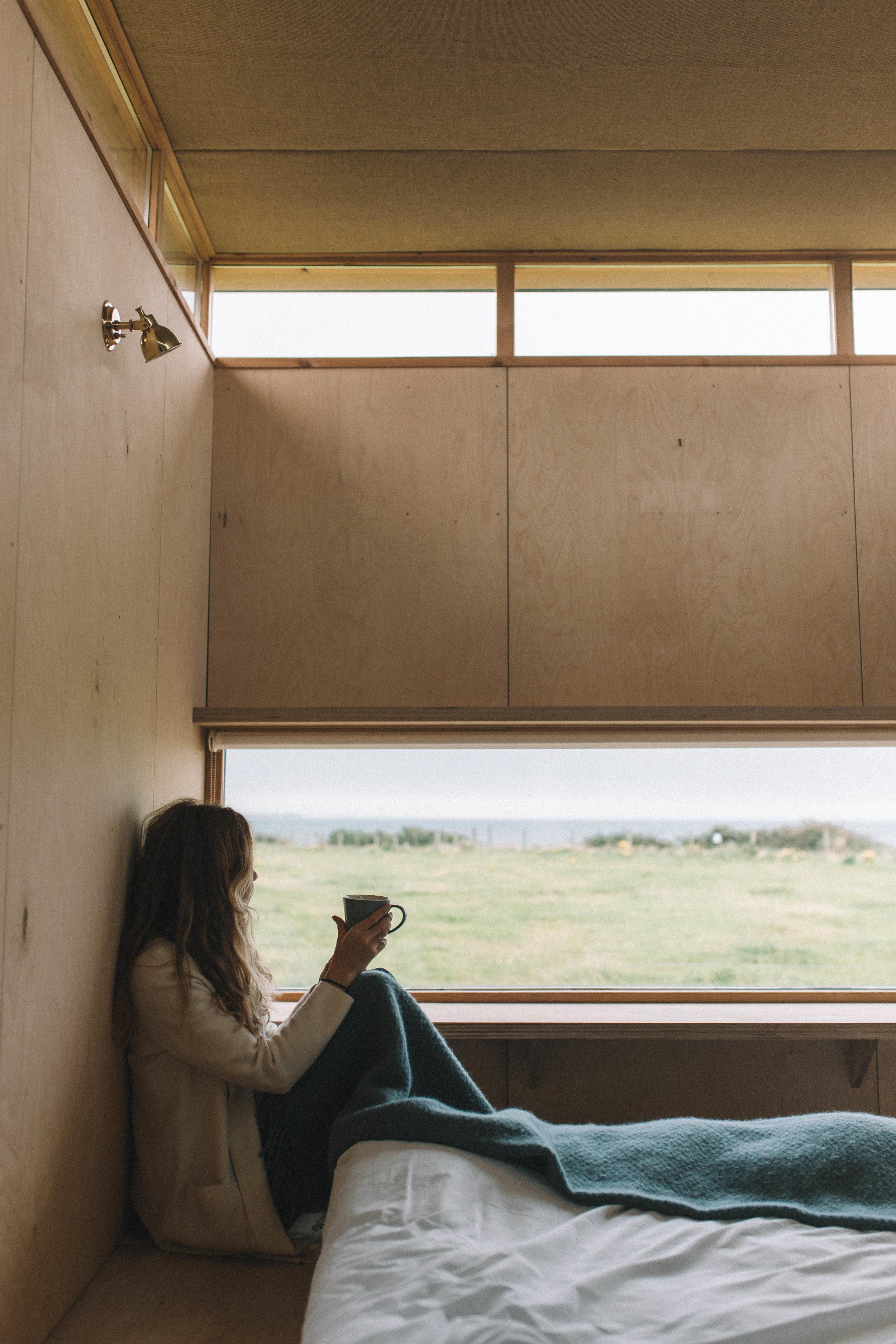 The Slate Cabin, Wales - Joy Felicity Jane