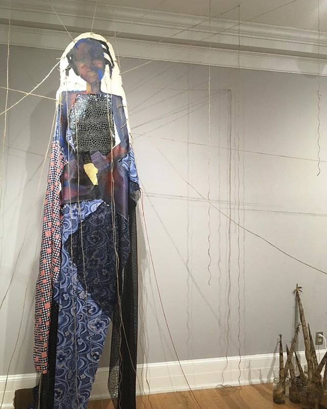 Do not miss this incredible, important work by our beloved @angeladjohnson up now at @sumtergallery. WOW. #multidisciplinary #mixedmedia #interdisciplinary #drawing #installation #women #livingmelodycollective #weloveatl #contemporaryart #womenartists #dowhatmakesyouhappy #youngcollectors