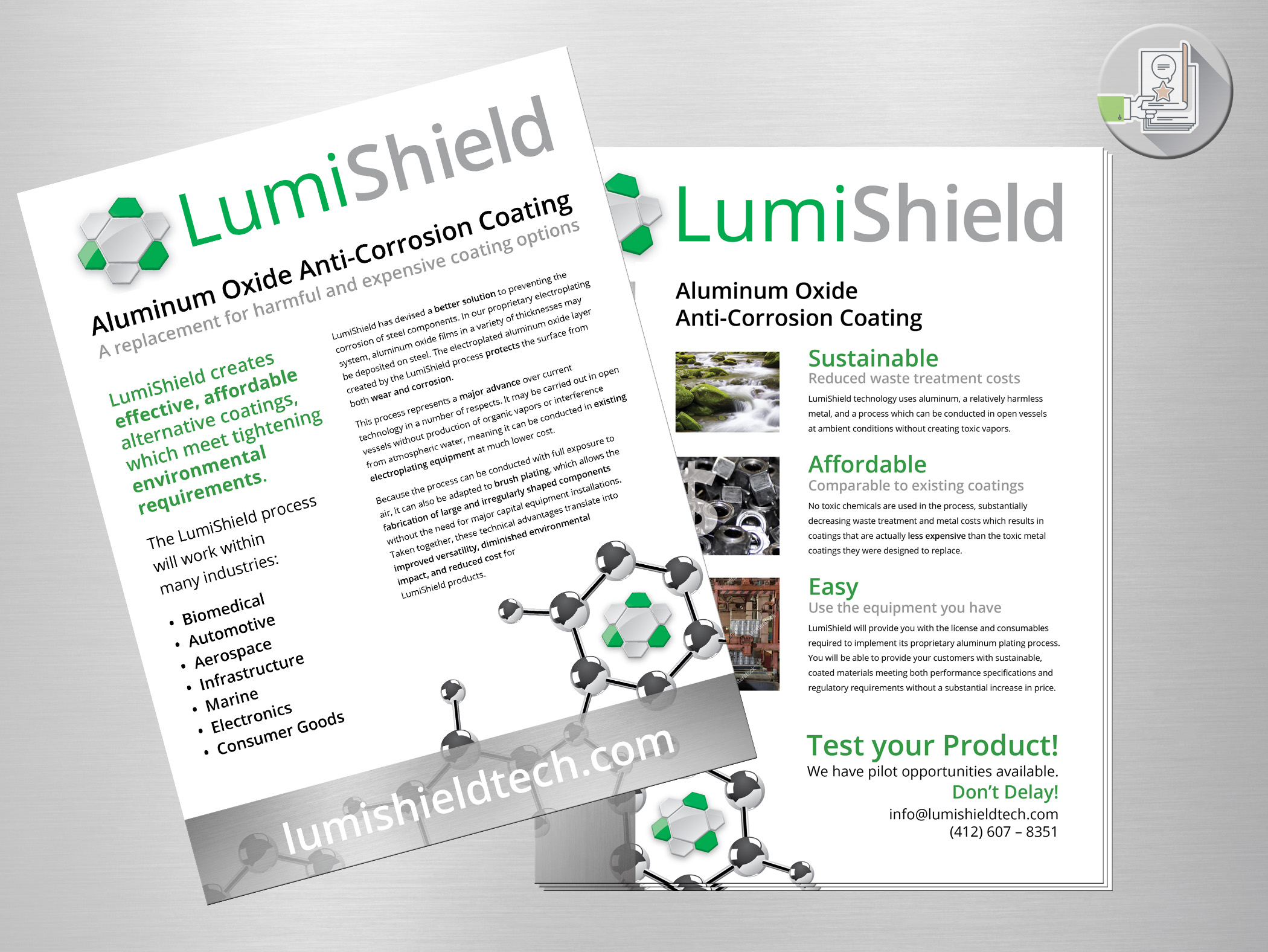LumiShield flyer