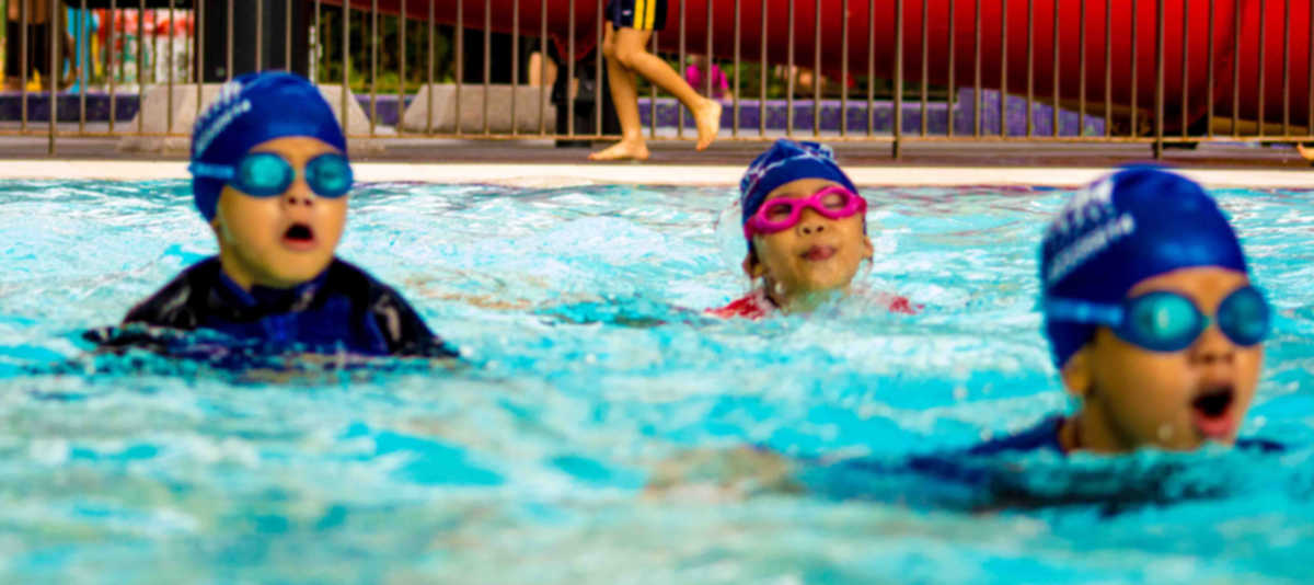Swimming is an engaging and low impact exercise