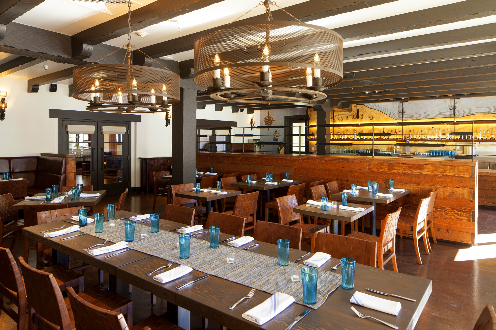 The completed dining room of Arguello Restaurant. | Photo courtesy of Arguello