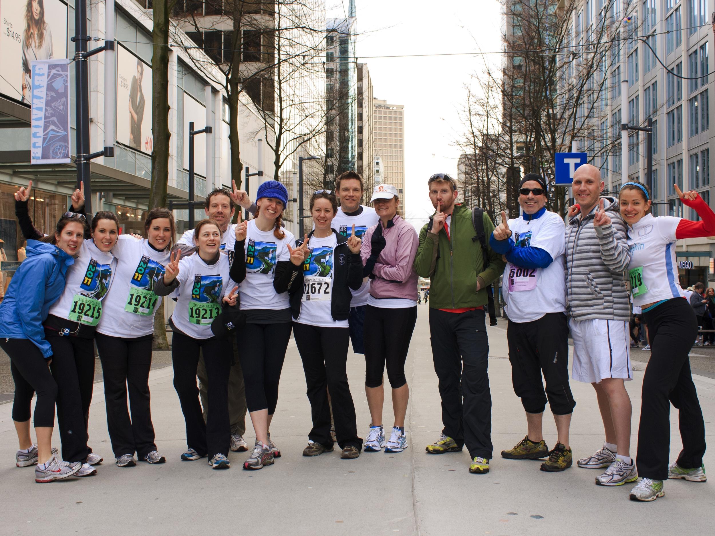 Vancouver Sun Run, 2011