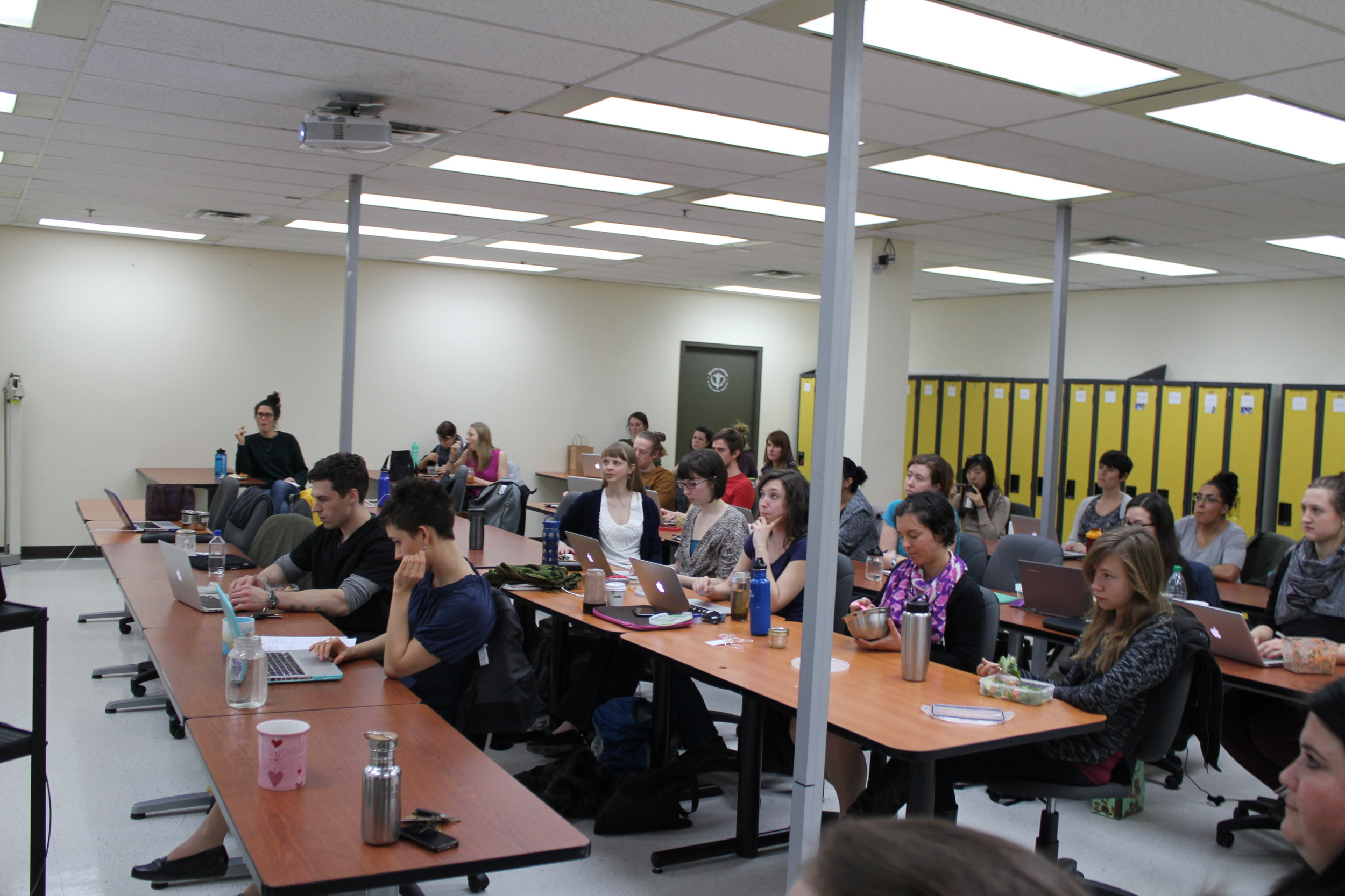 Large turnout for the Residency Discussion!