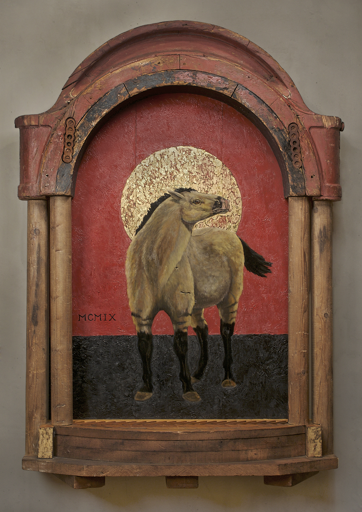 Tarpan, Extinct 1909, 40 w x 60 h x 12 d""