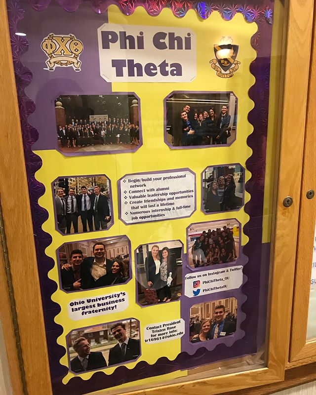 Take a break from studying for finals and check out our newly remodeled bulletin board in Copeland! Thanks @devonceslak for making it look great!