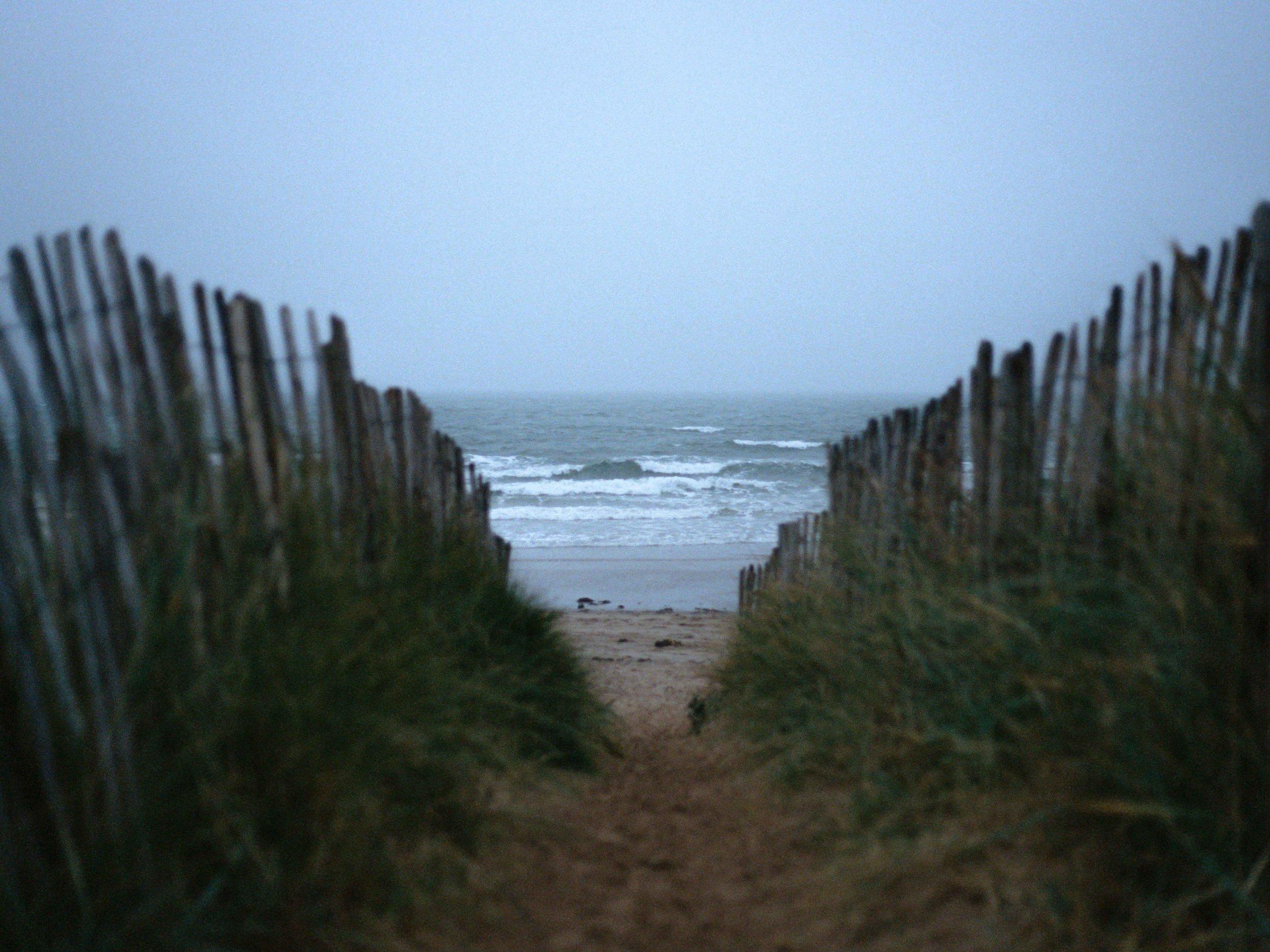 Scottish Beach, St. Andrews, Kodak 400