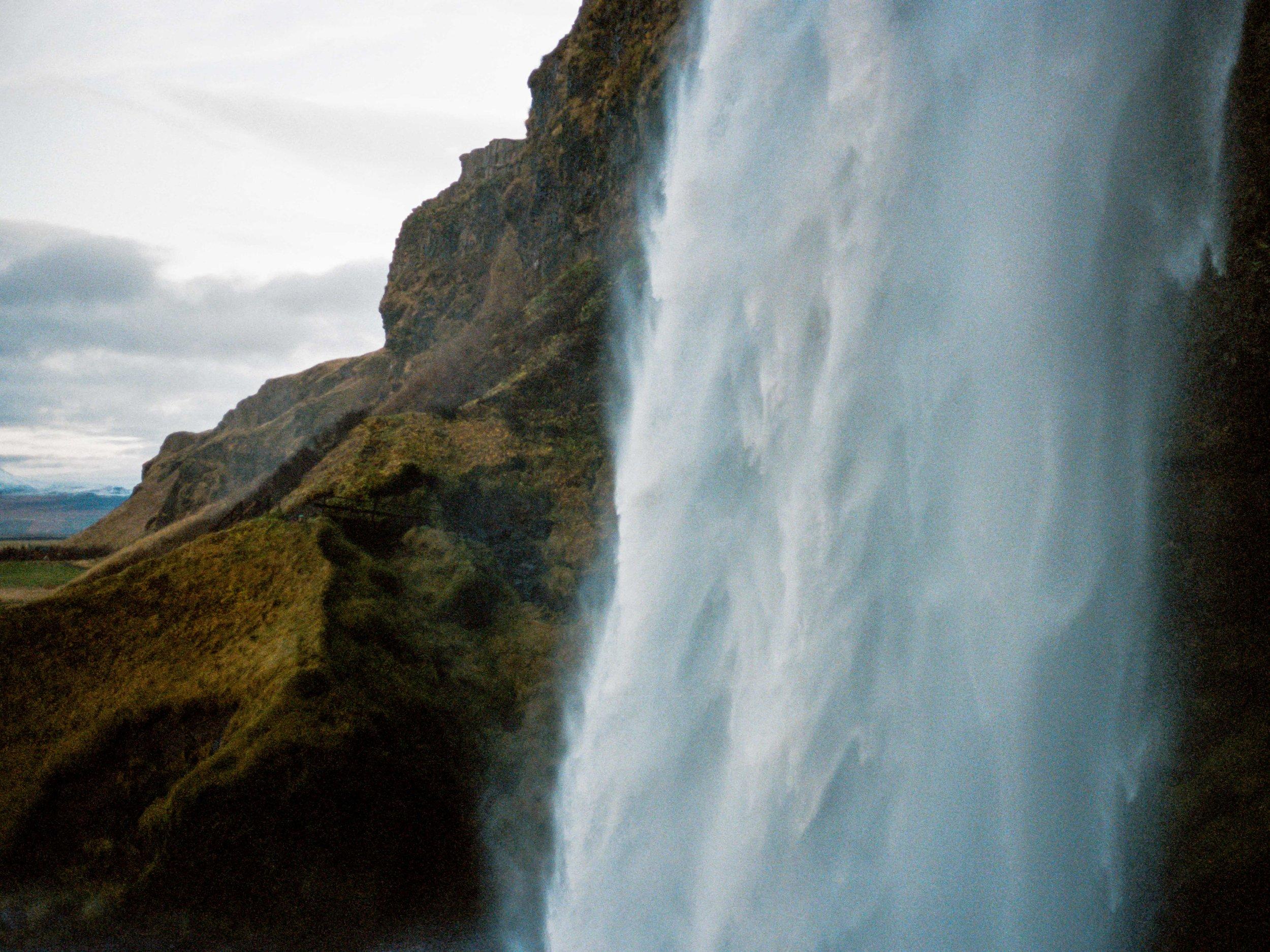 Seljalandsfoss, Iceland 35mm Portra 400