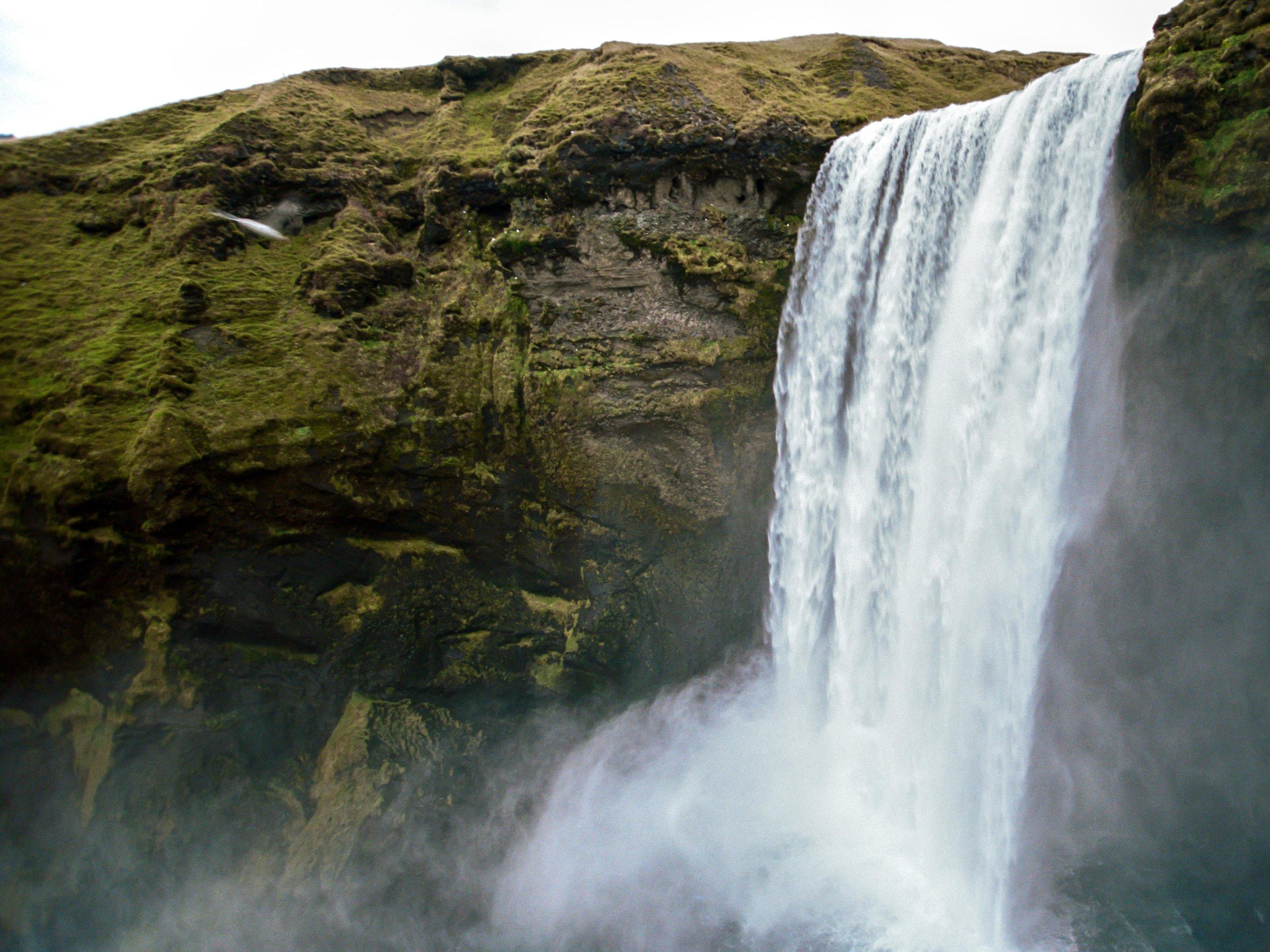 Skógafoss, Iceland 35mm Portra 400
