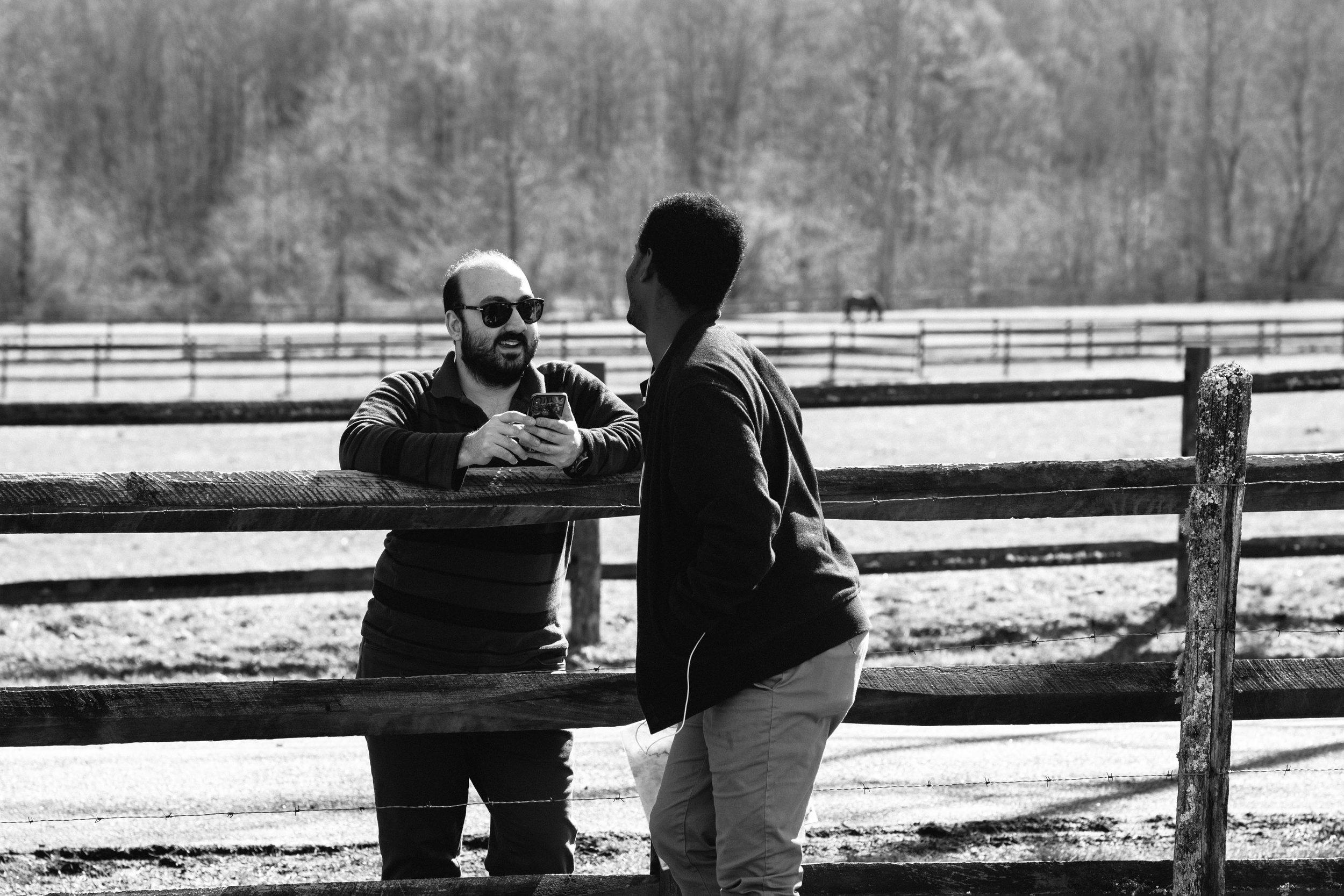 Producer Mehmet Gungoren &  Script Supervisor Dag Abebe