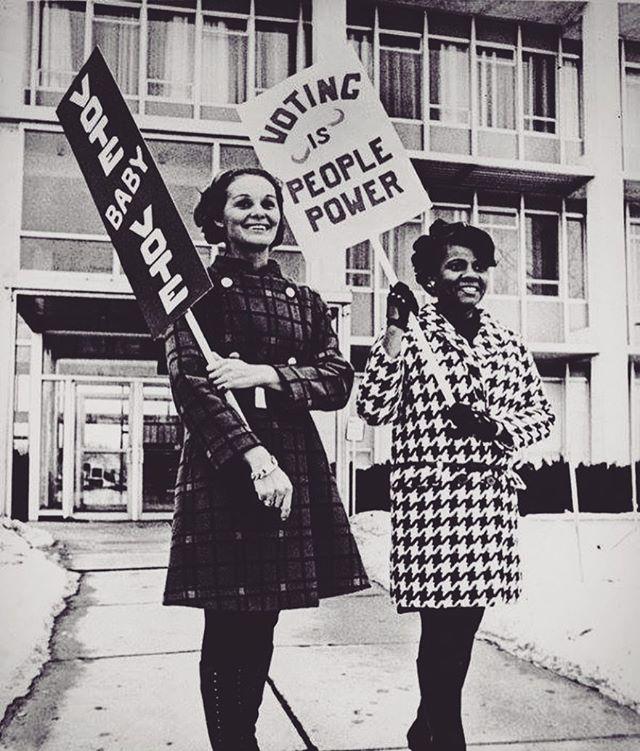 Vote baby, vote! ✔️