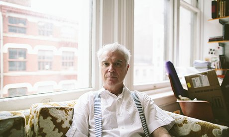'I've pulled as much of my catalogue from Spotify as I can' … David Byrne. Photograph: Chris Sembrot for the Guardian