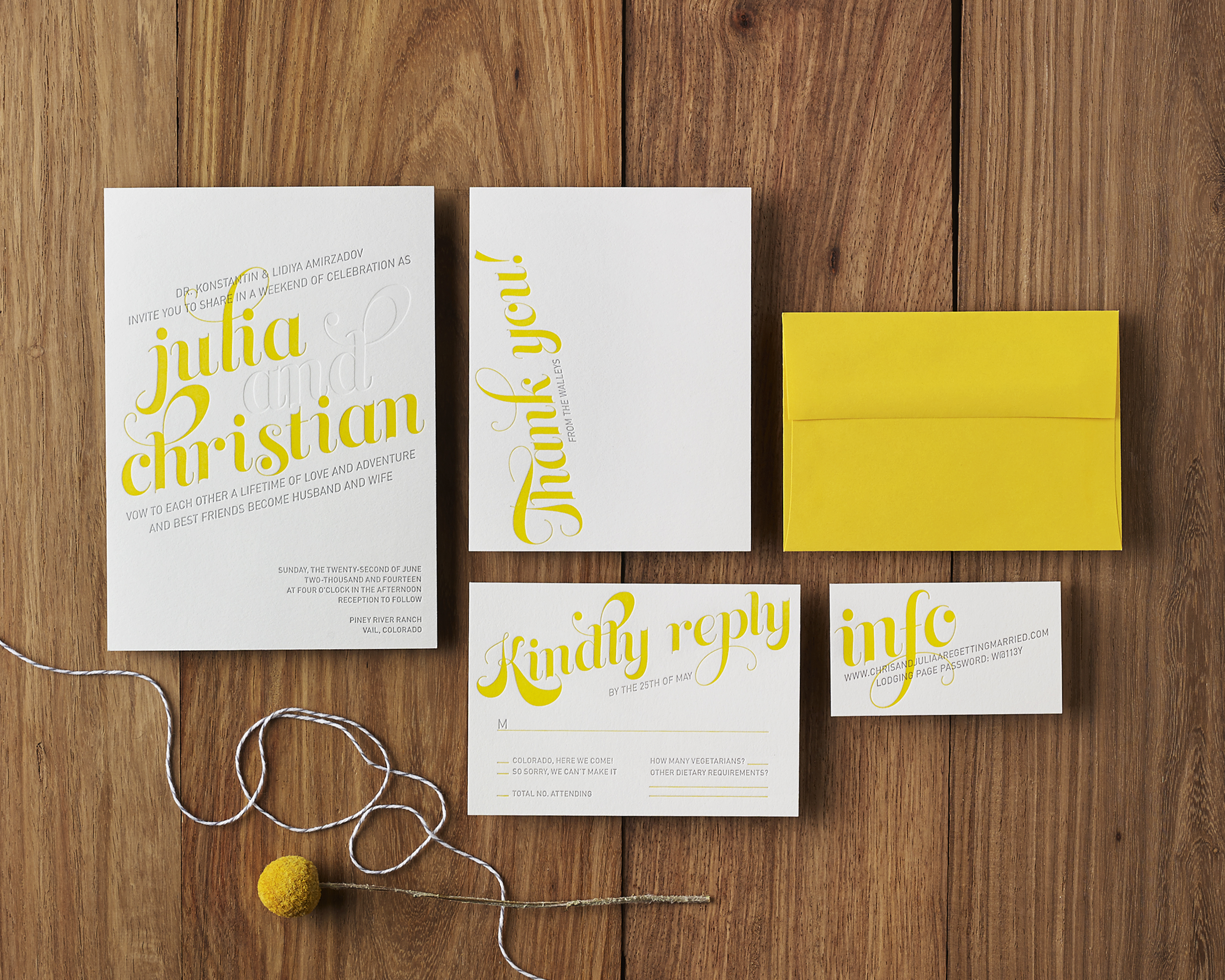 COLLECTION: Mellow Yellow