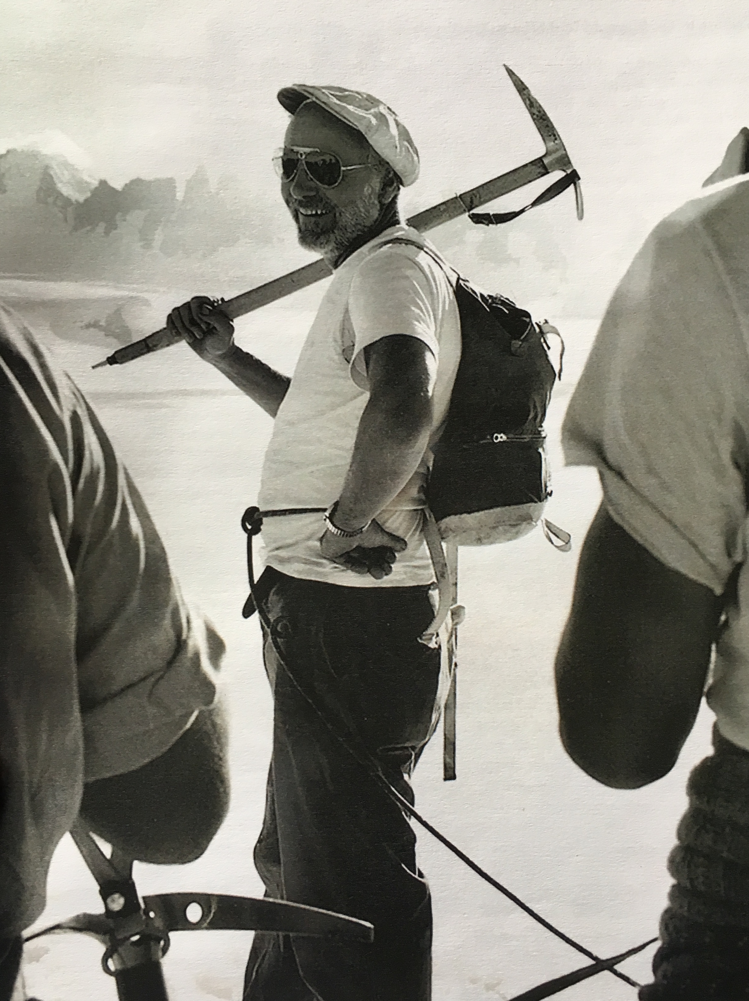 Maynard Miller, Taku Glacier, [year unknown]