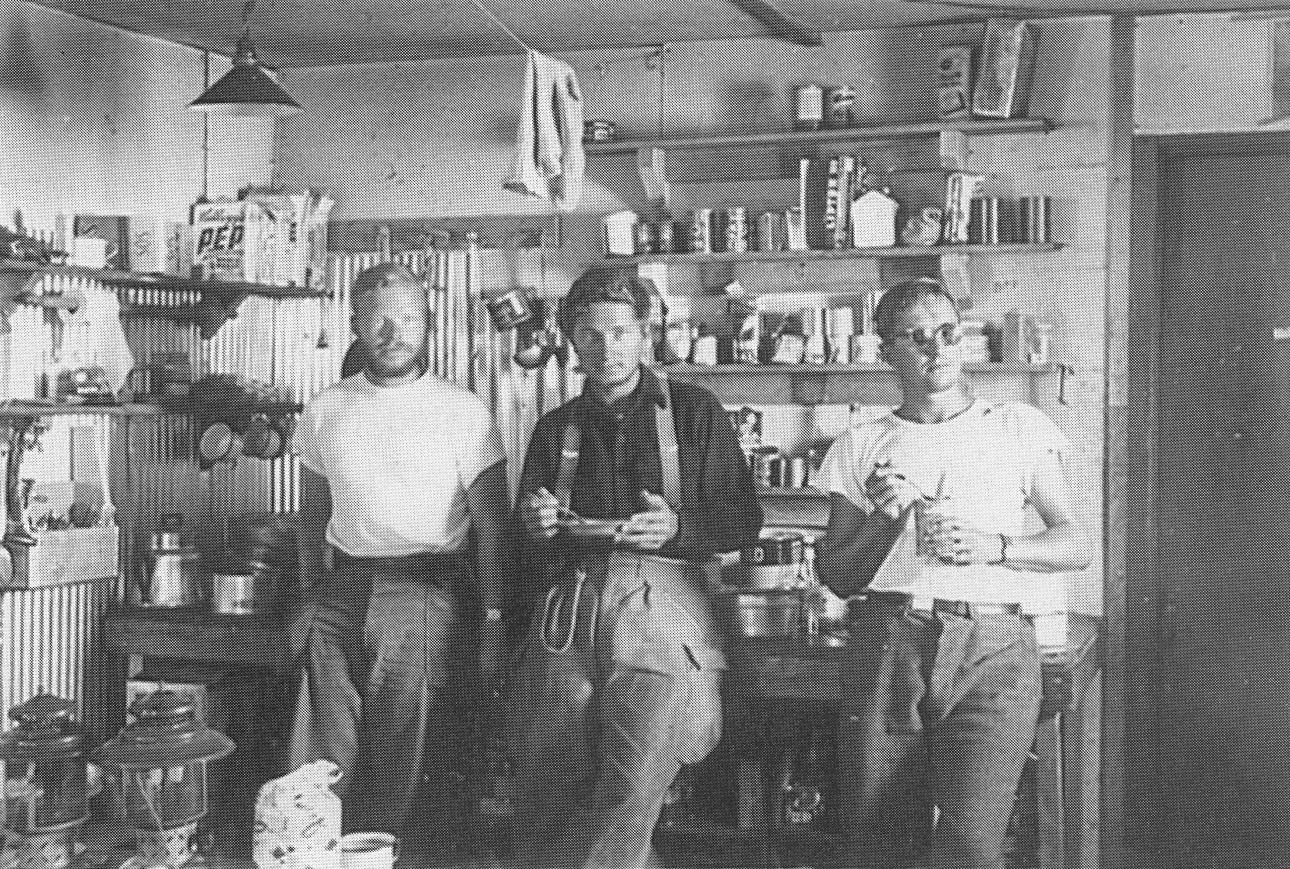 [names unknown], Camp 10, Taku Glacier, 1951