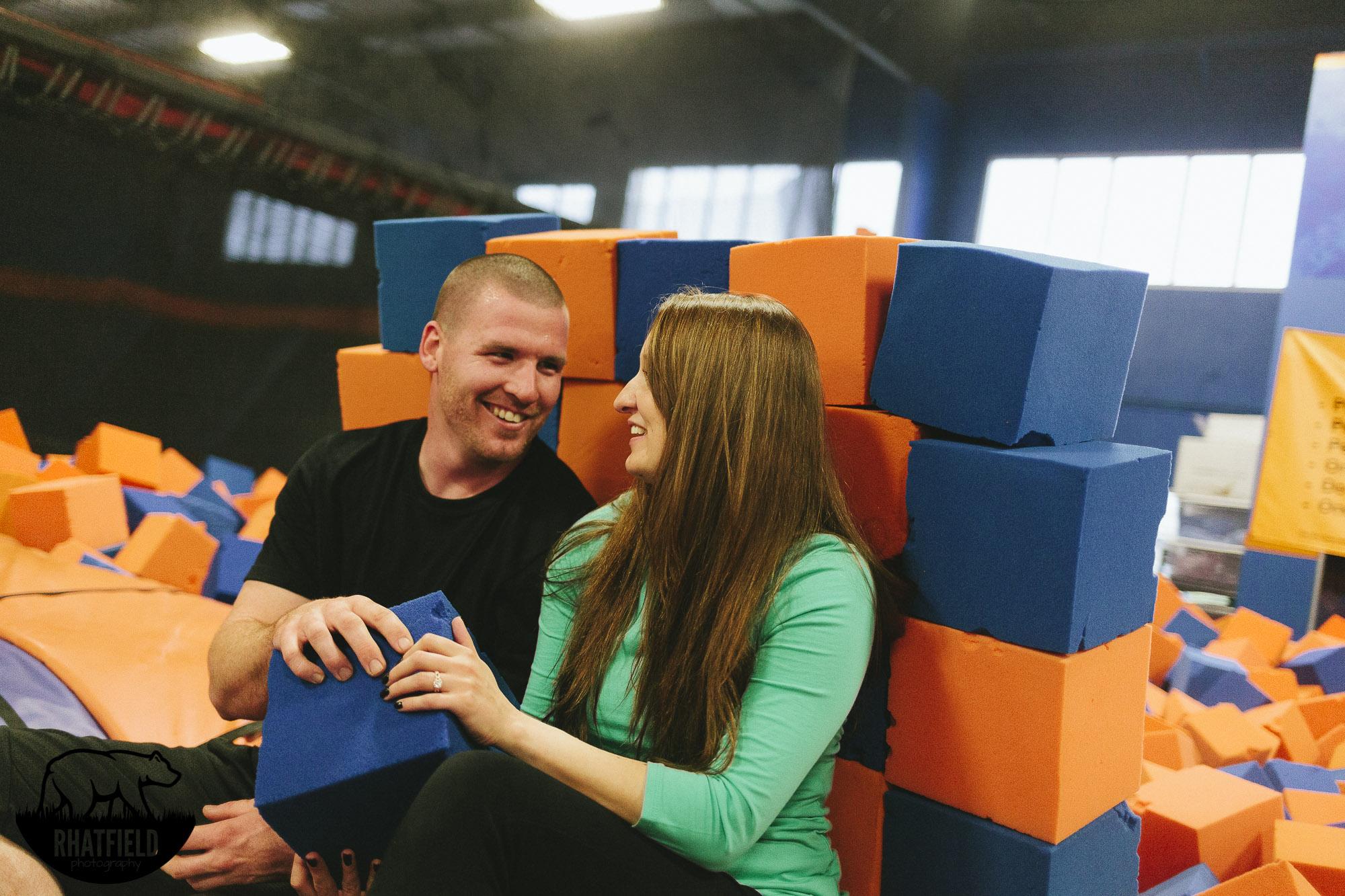 couple-foam-block-wall