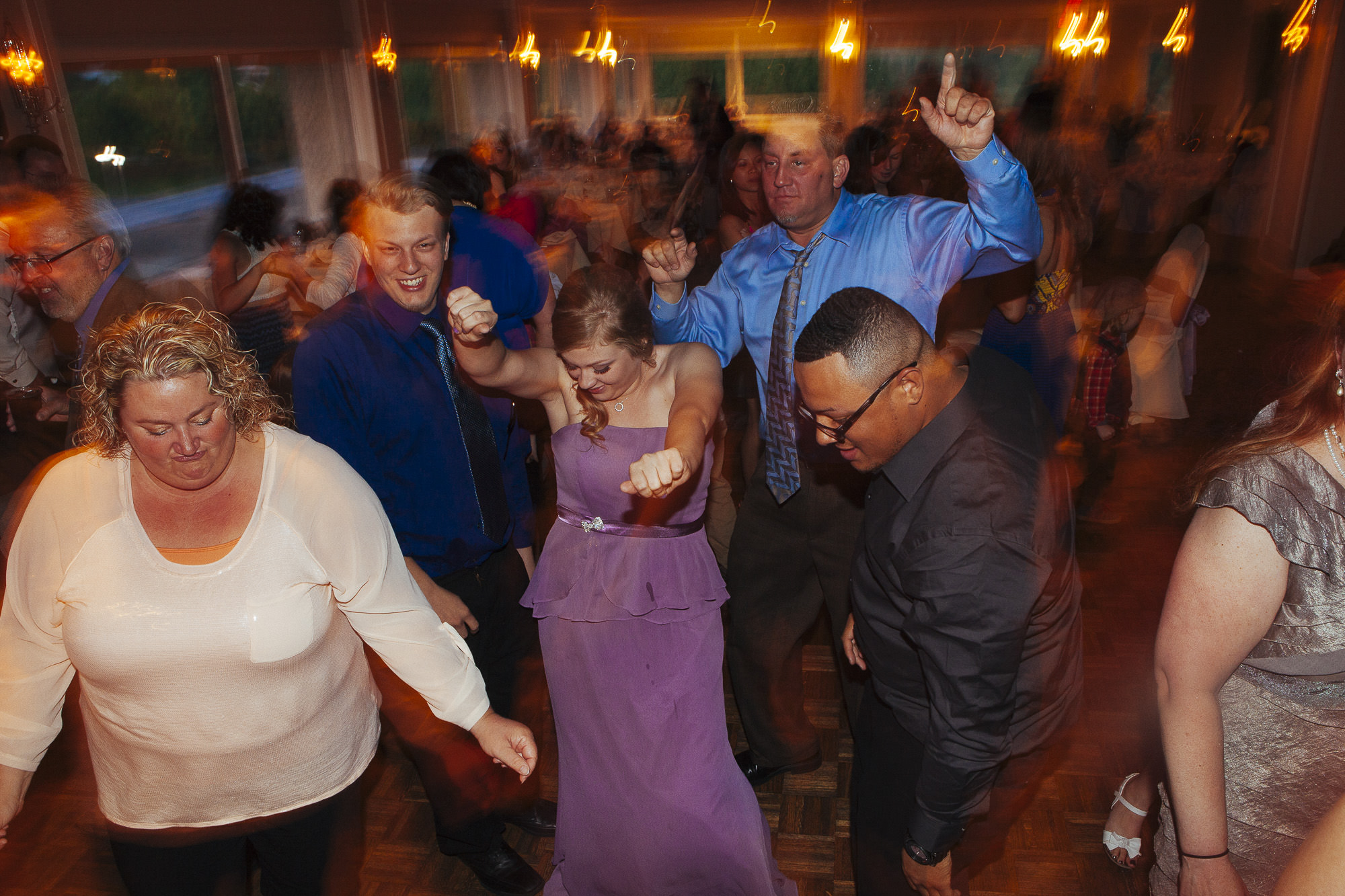 wedding reception dance party