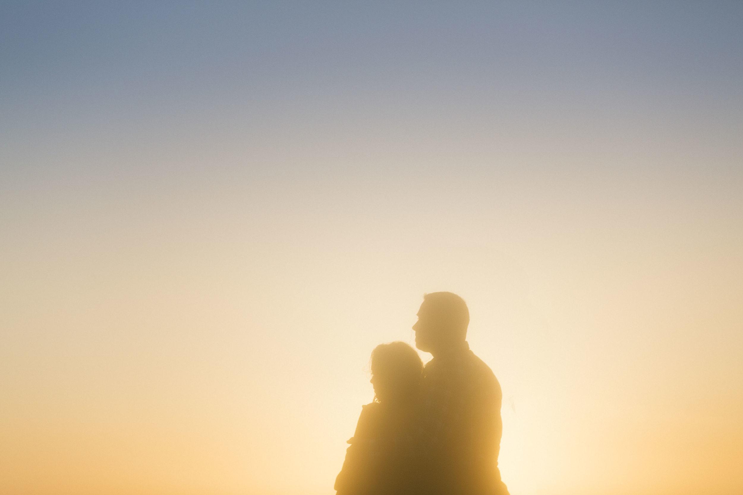 silhouette-bodega-bay-engagement