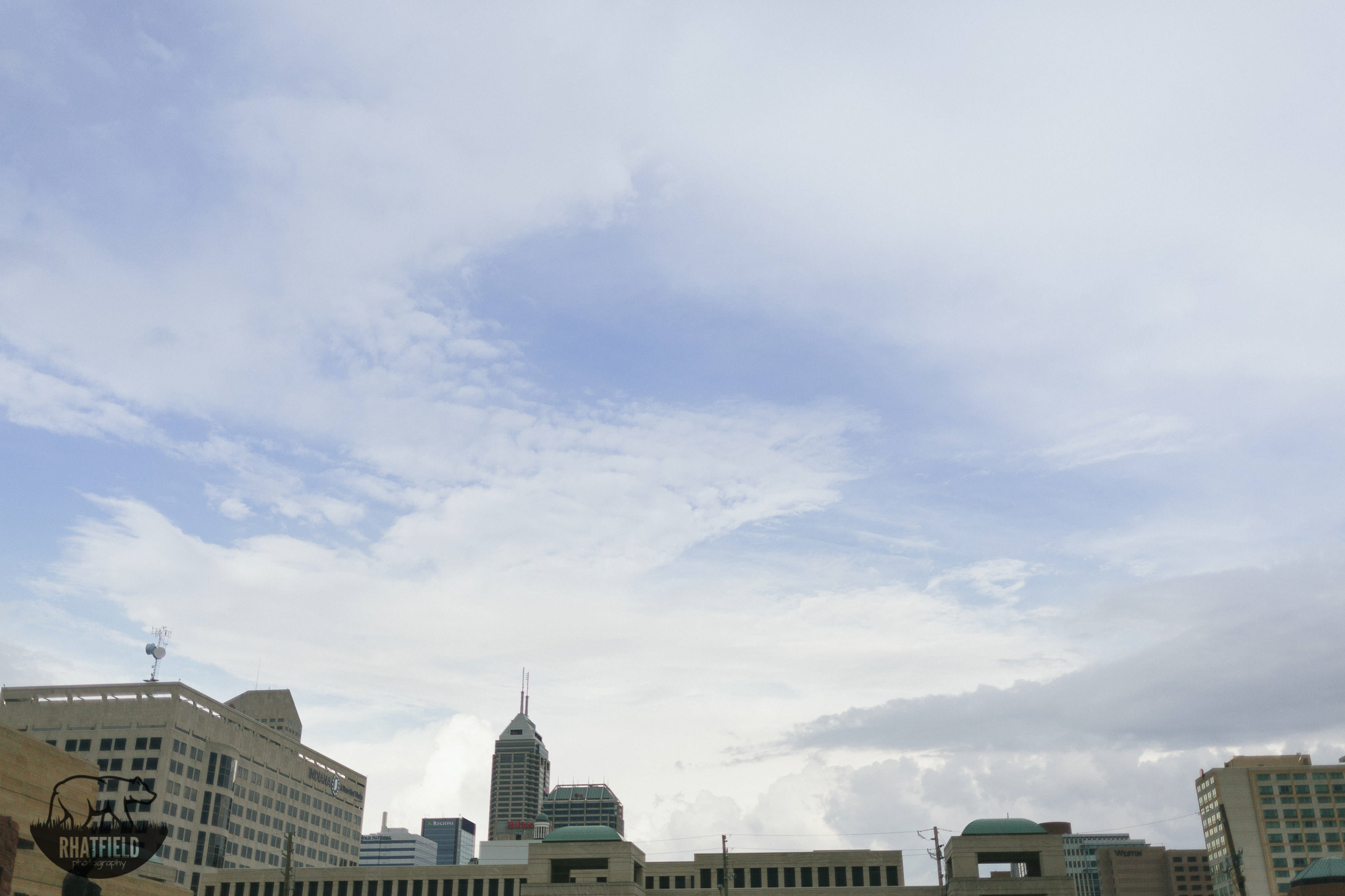 indianapolis-skyline-beautiful-clouds