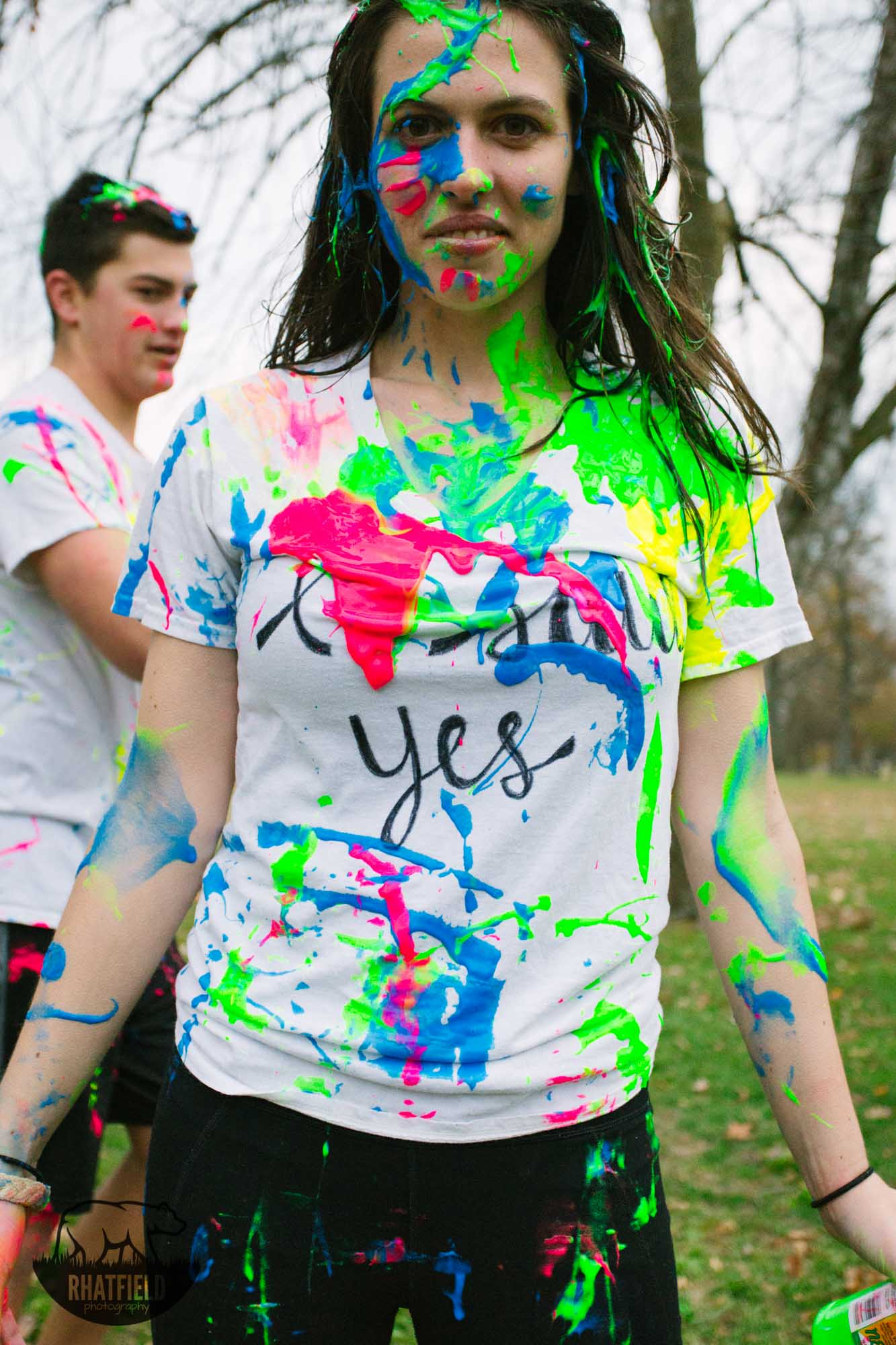 Allison and Austin Paint War Engagements