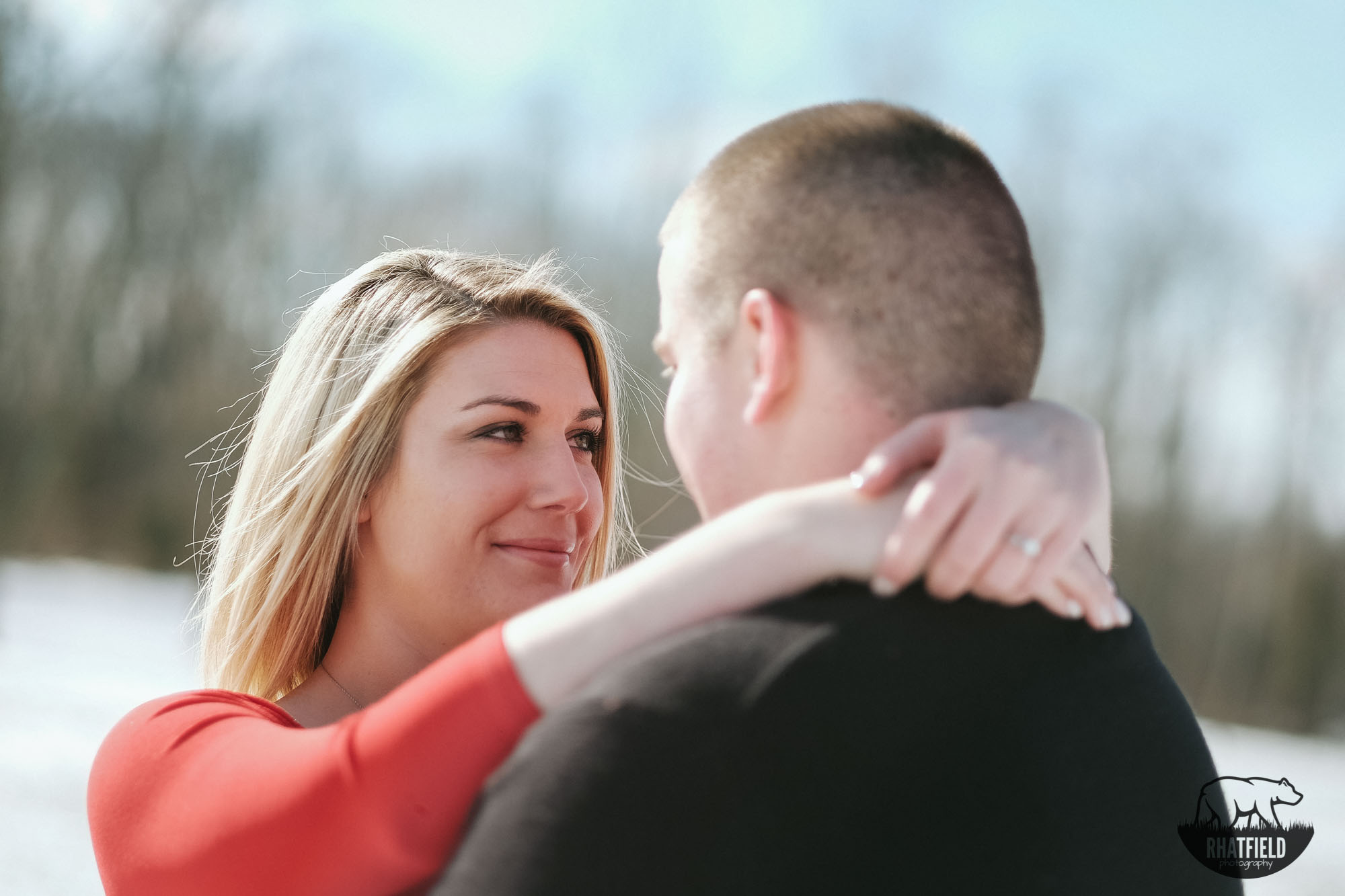 Caylee and Nick 100 acre woods engagements www.RHatfieldPhotography.com