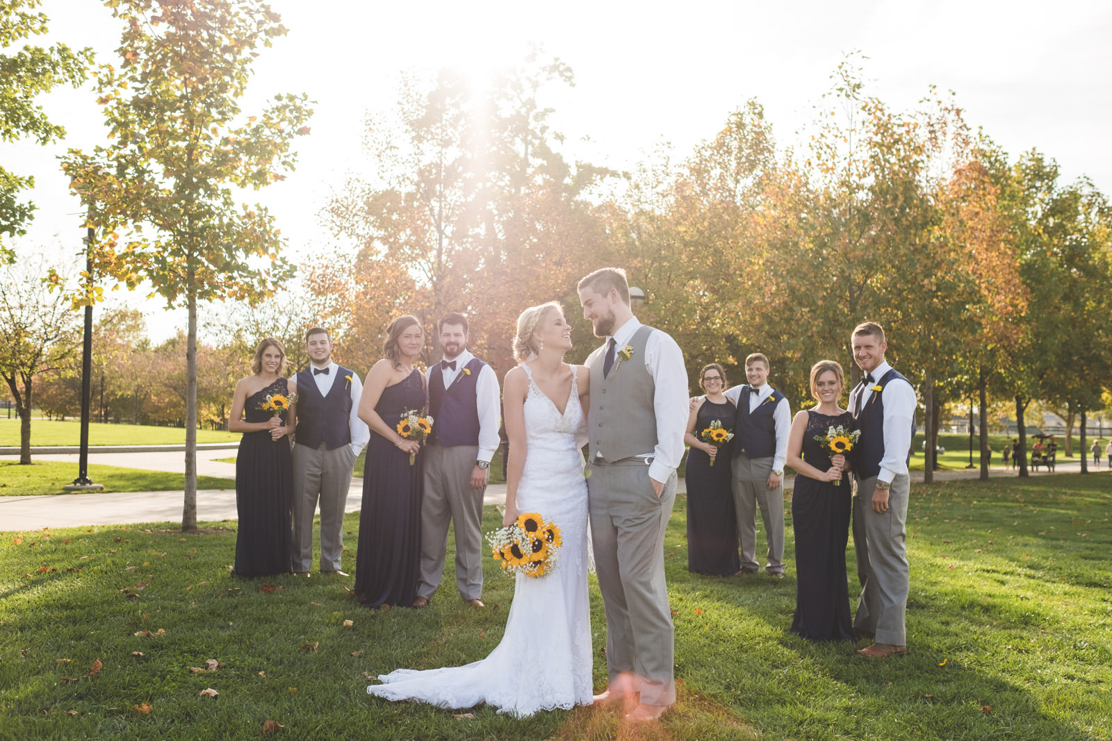 Spencer and Kristen Primos Event Center Wedding Indianapolis Indiana  - www.RHatfieldPhotography.com