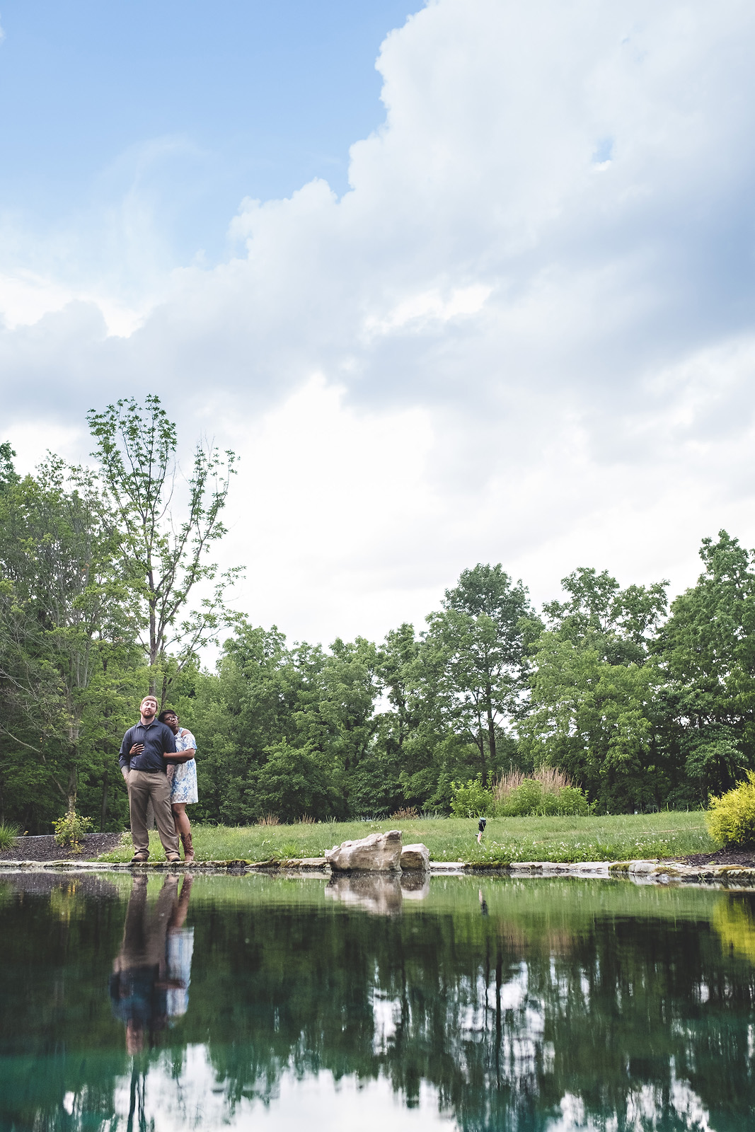 Nick and Lorraine's Stone Creek Lodge Crawfordsville Indiana Engagement Session - www.RHatfieldPhotography.com
