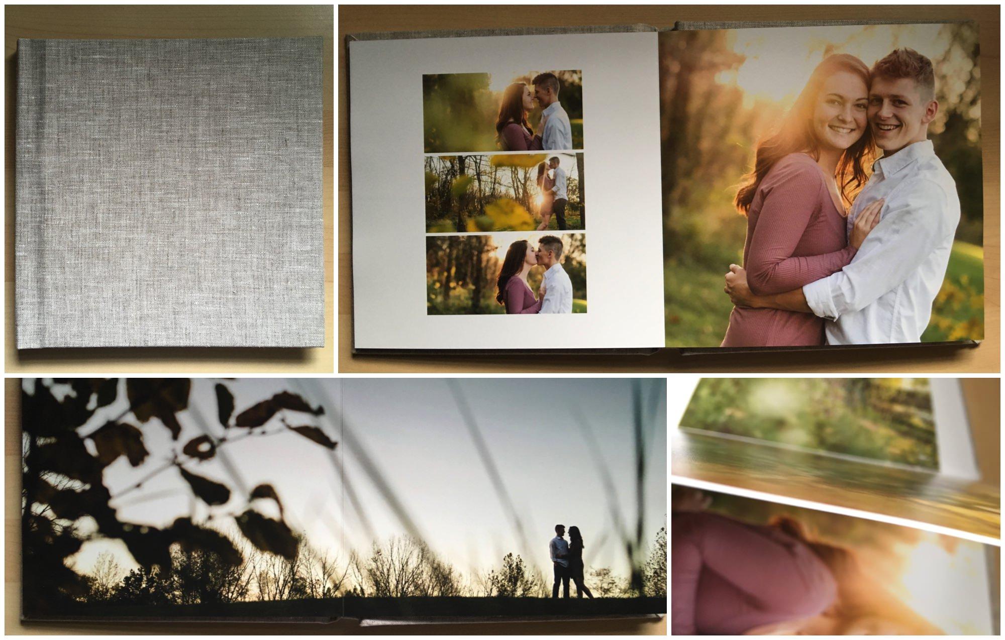 Engagement-photo-album