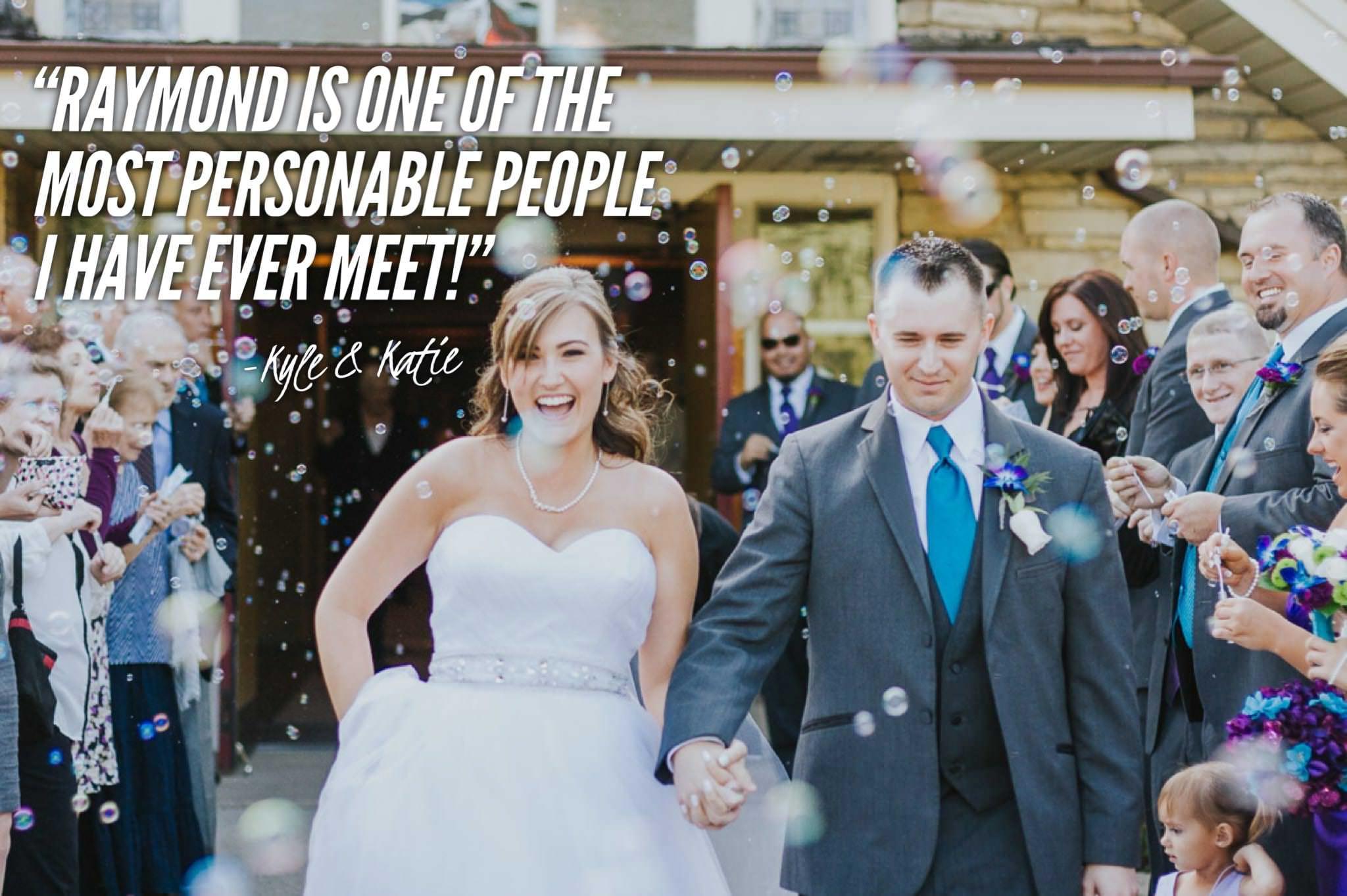 bubble wedding exit happy bride.jpg