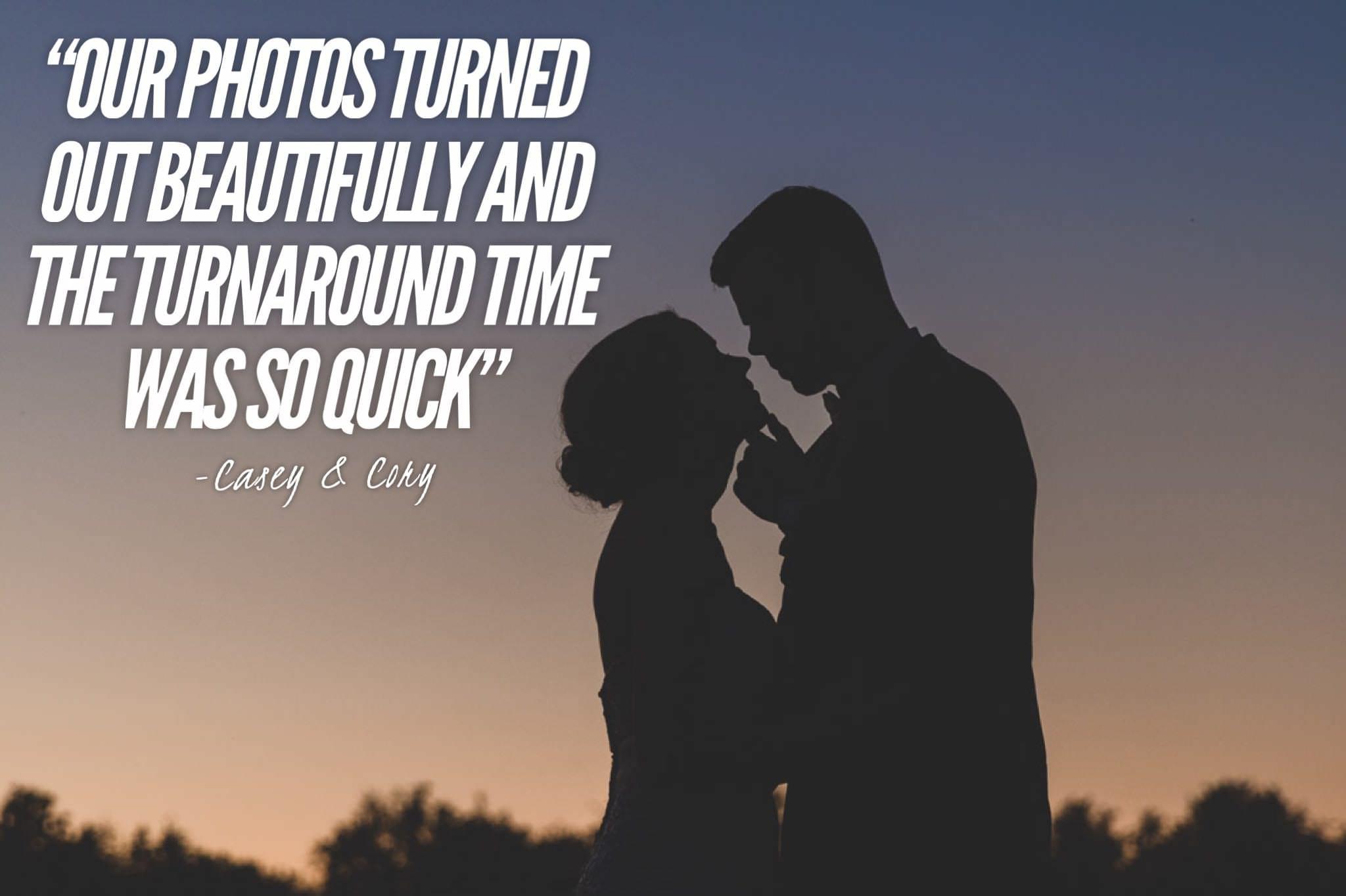 silhouette wedding portrait at sunset.jpg