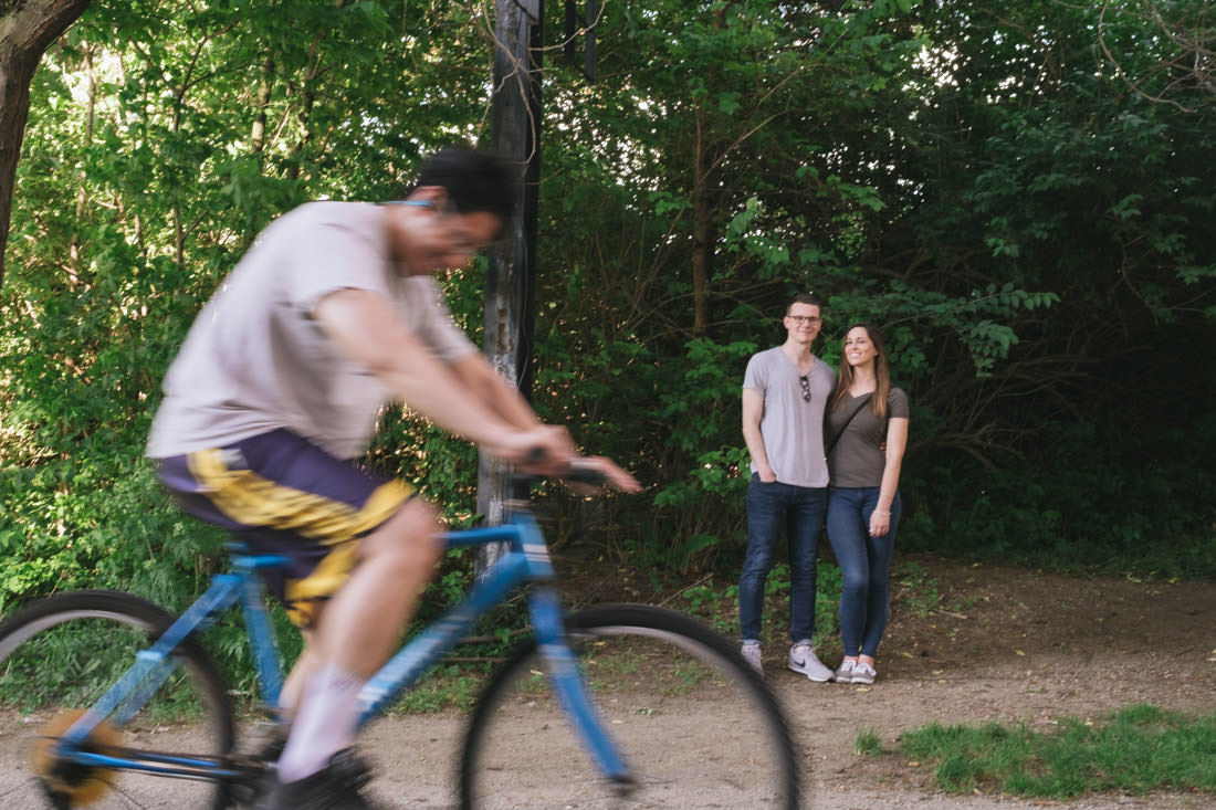 Monon Trail Broad Ripple bike ride