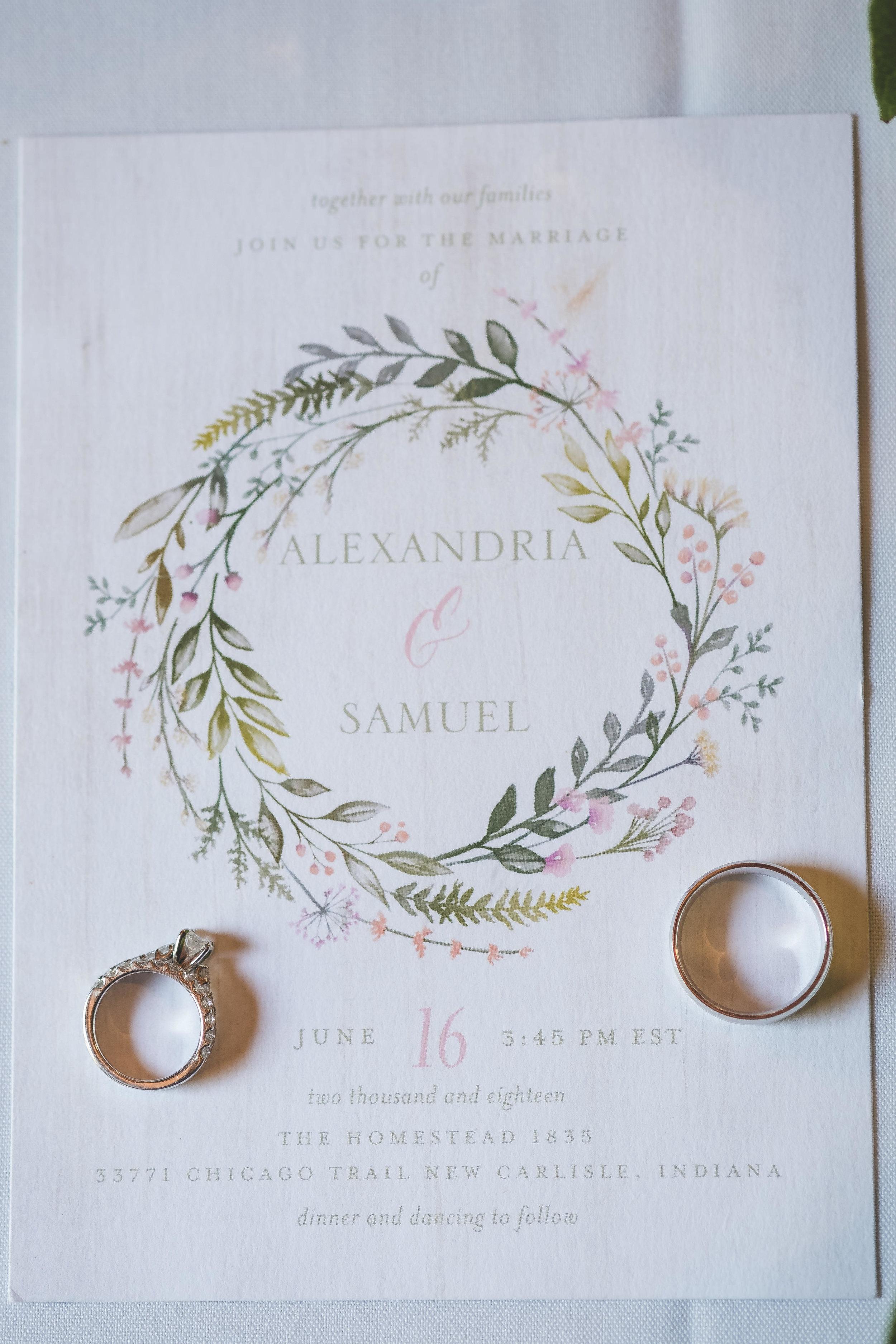 Sam & Alex's Homestead 1835 Wedding New Carlisle IN - www.RHatfieldPhotography.com