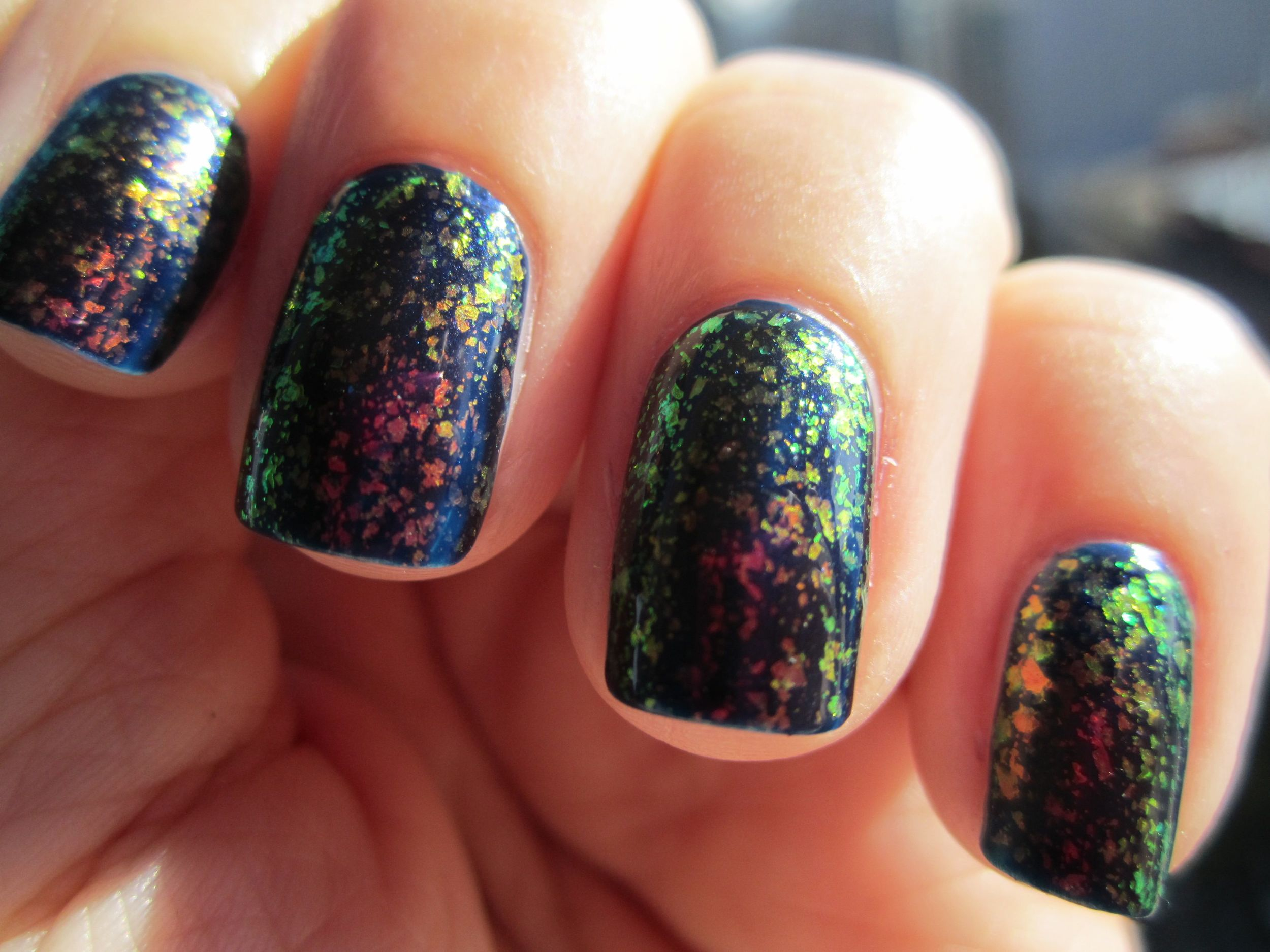 Essie Shine of the Times and Midnight Cami